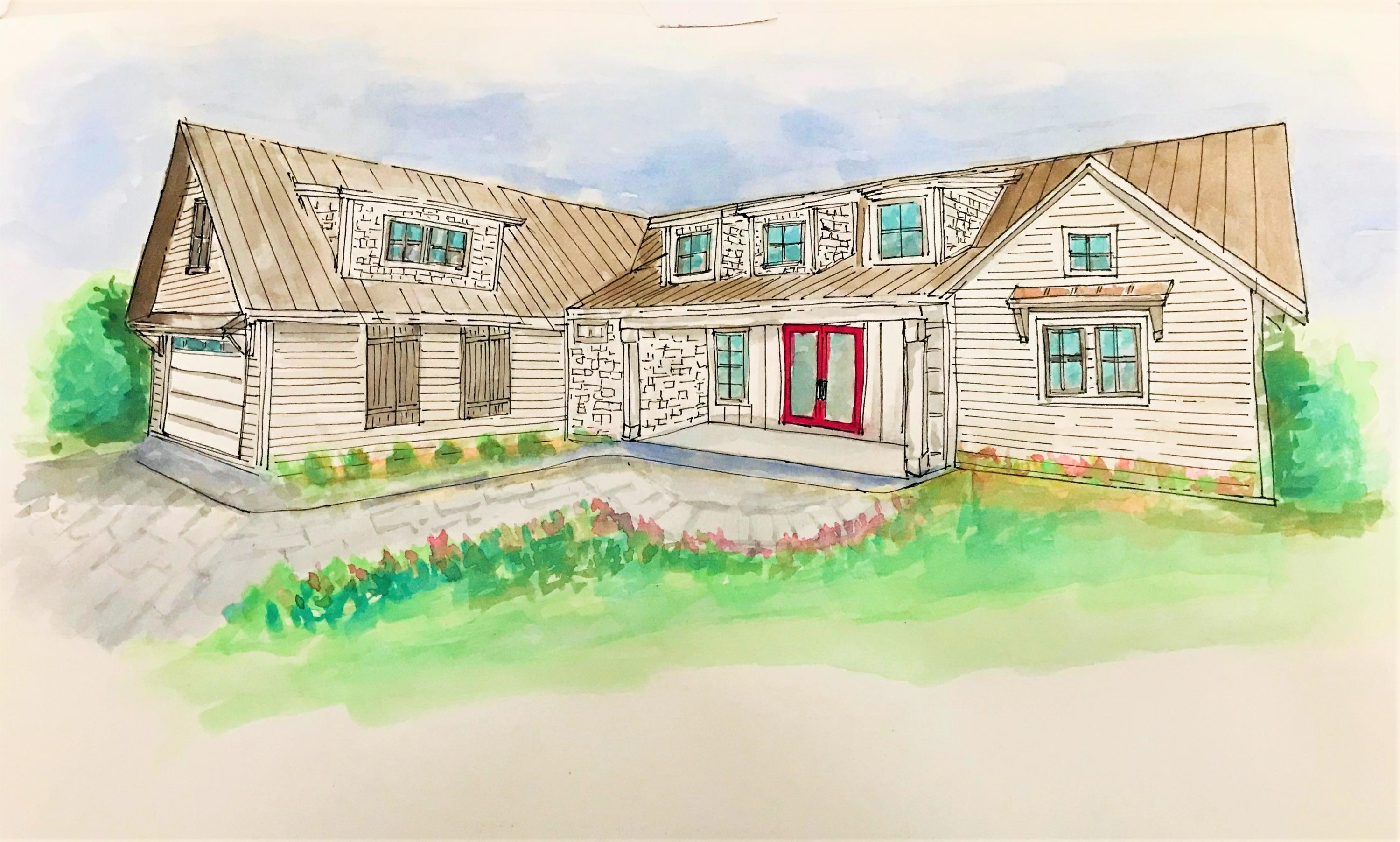 NEW CONSTRUCTION! This upscale modern farmhouse home is being built in Old Marsh Cove, a developing neighborhood off Mack Bayou Drive. Lot 8 is a corner lot, 4 bedrooms - 3 full baths.The house is designed with a large kitchen island overlooking a vaulted living room. The kitchen will be an entertainers dream; 3CM Quartz countertops, Wellborn Custom Cabinetry and a 30'' gas range.  A LARGE Master suite with walk in closet and double vanity can be found on the first floor. There is a bonus space above the garage perfect for an in home office or kids play room. The interior finishes (cabinetry, plumbing fixtures, flooring, tile, paint colors) can all be selected by the new home owners if the home is presold) Additional features include tankless water heater, neighborhood dock & walk in pantr