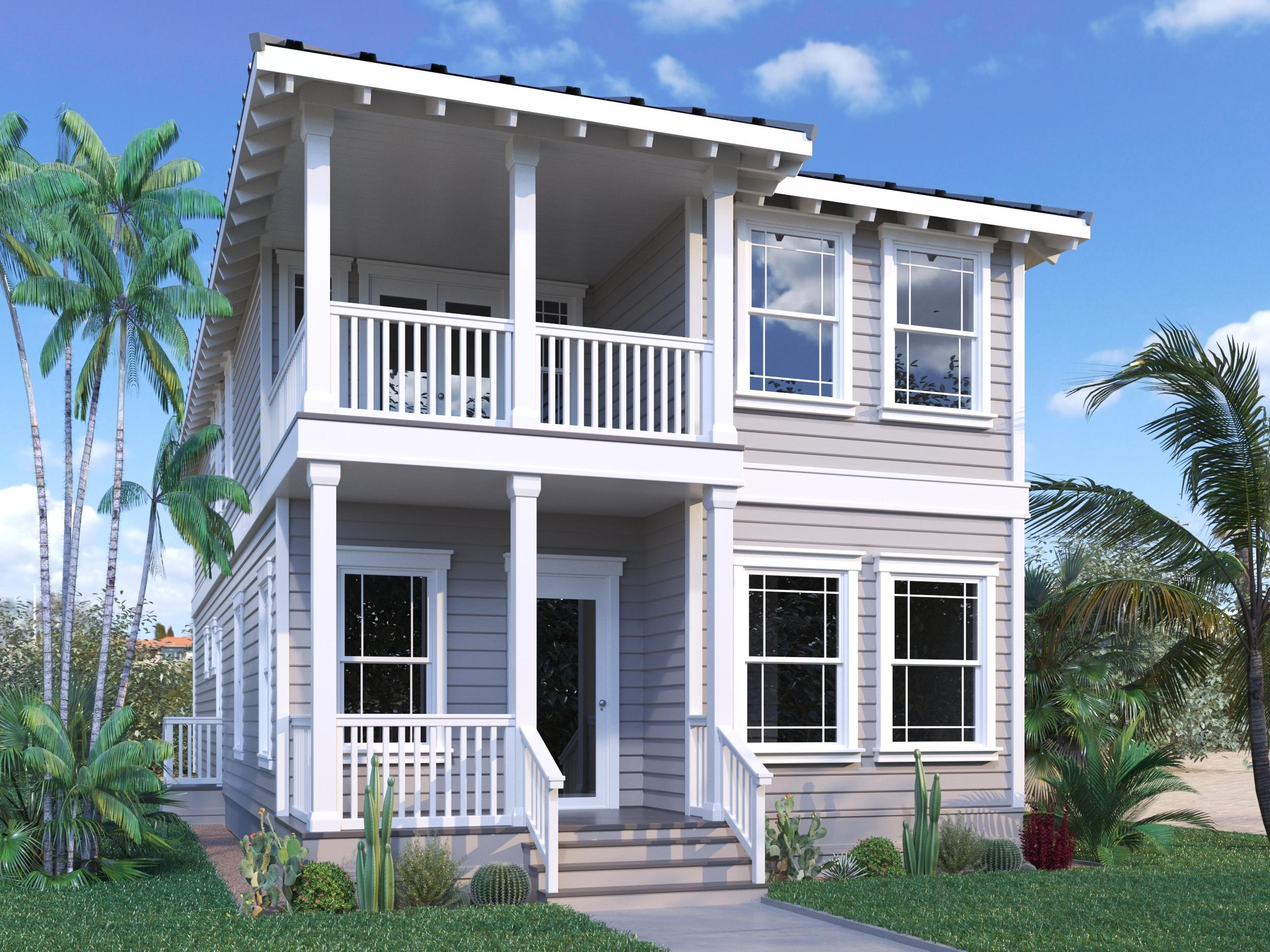 Currently under construction by Bay Custom Builders, this beautifully designed beach house has a gra