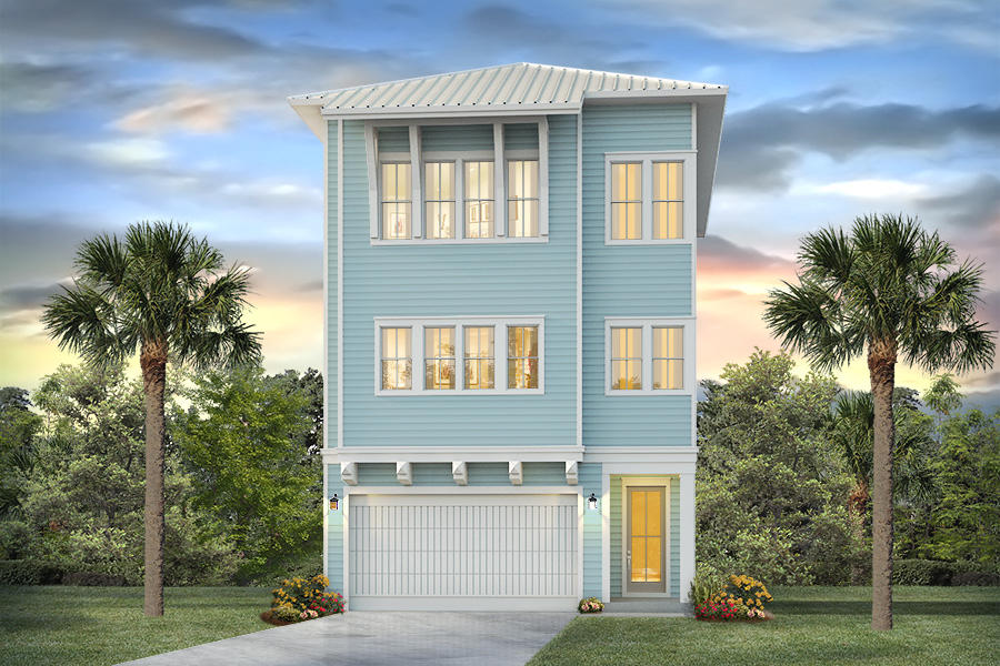 Welcome to the newest phase in Prominence South. The Bora Bora plan is a 3 story home with two car g