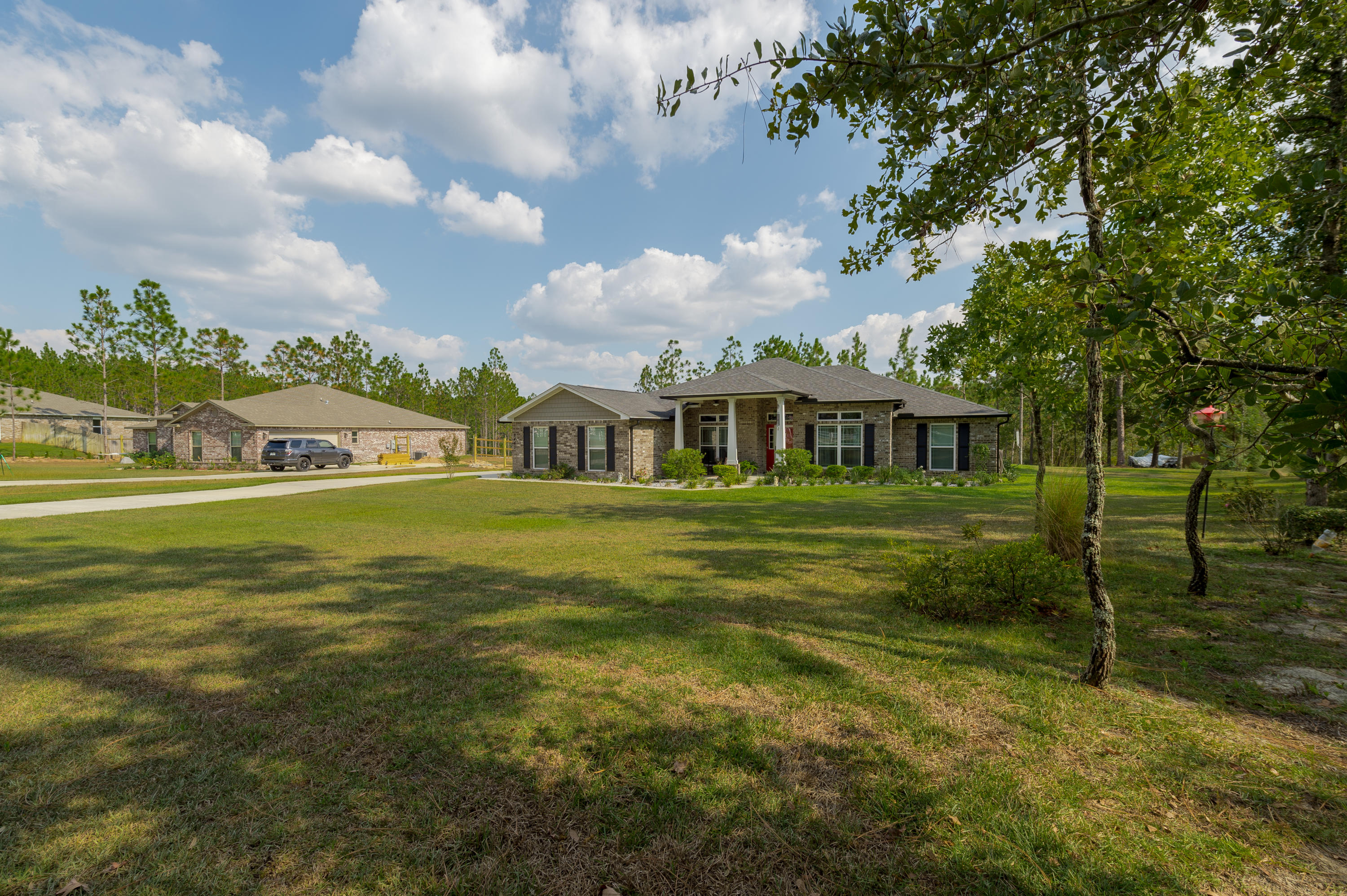 Photo of home for sale at 6463 Welannee, Laurel Hill FL