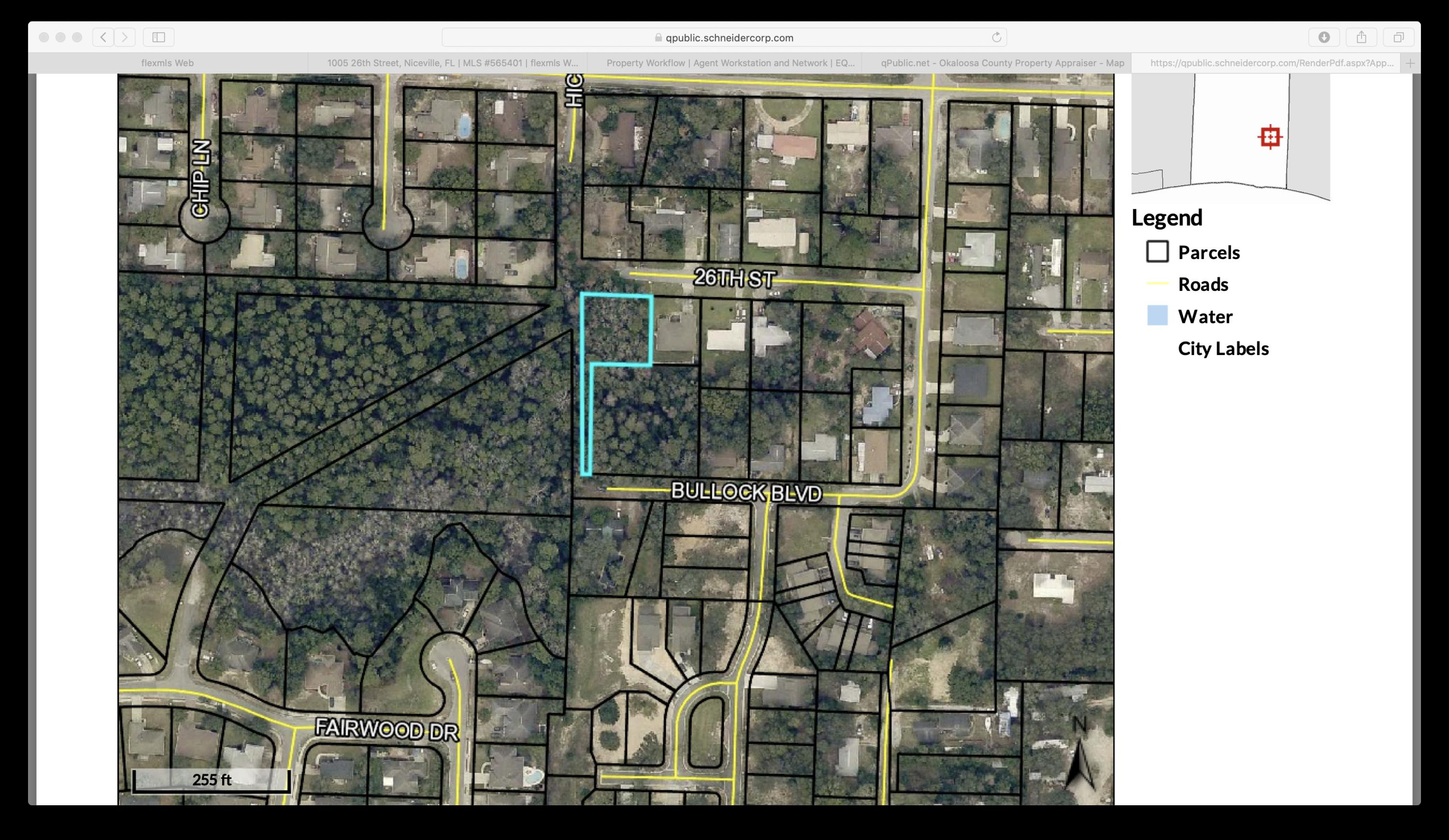 A   Metes & Bounds Residential Land