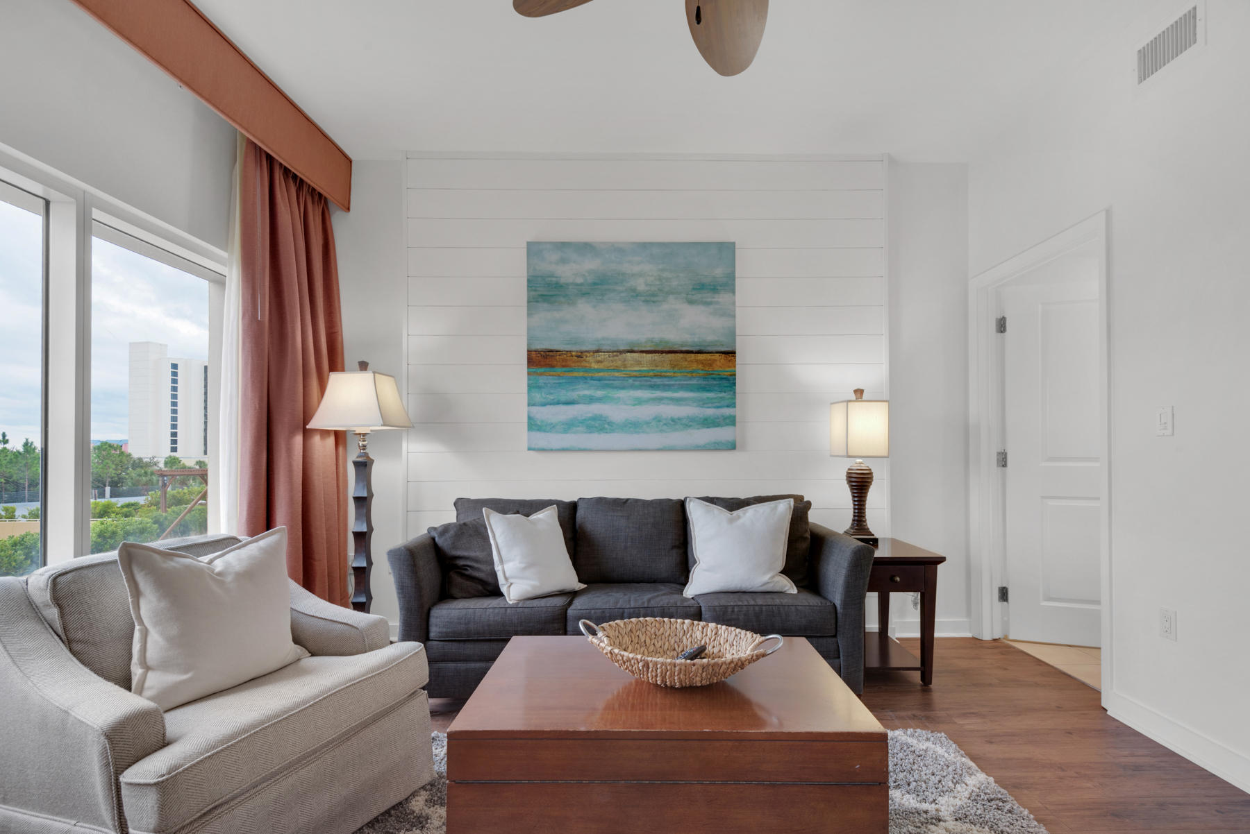 This beautifully decorated and recently updated 2nd floor NE corner condo features a large wrap arou