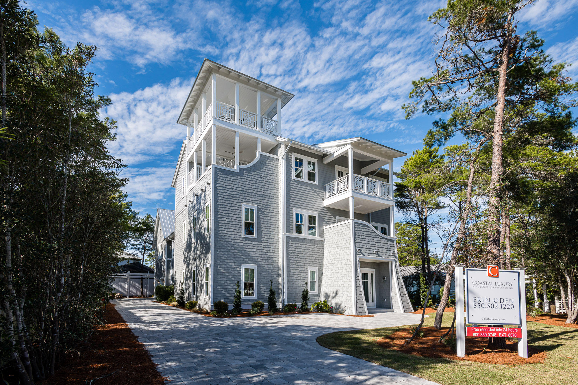 Photo of home for sale at 157 Seacrest, Inlet Beach FL