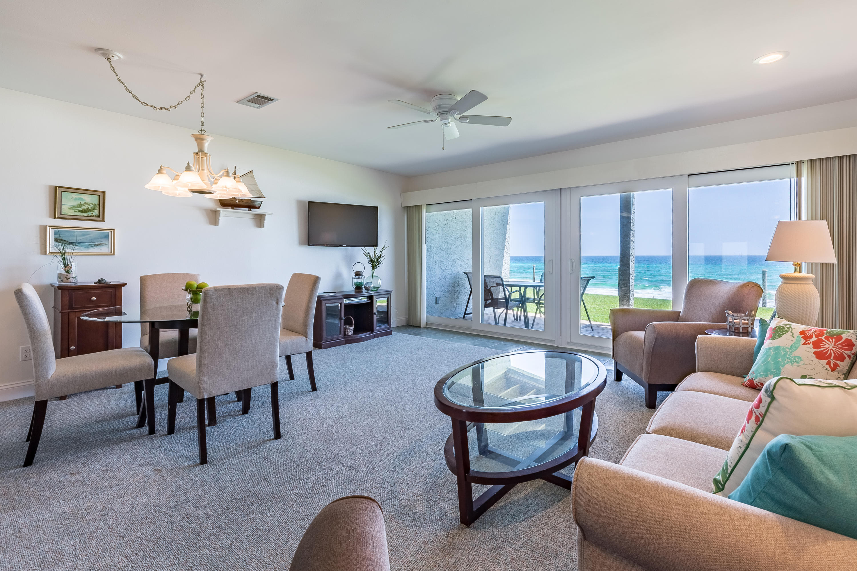 The BEST deal on a Gulf Front condo in Blue Mountain Beach. Enjoy Panoramic views of the Gulf from y