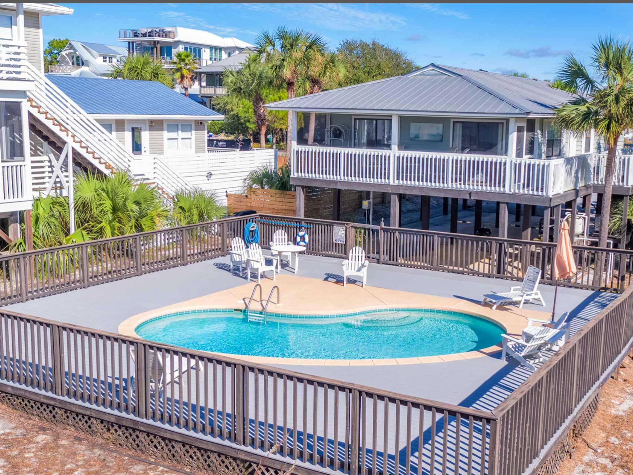 A 3 Bedroom 2 Bedroom Grayton Beach Home