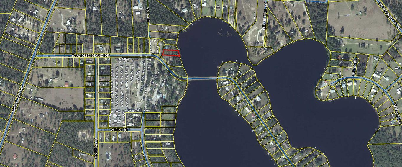 Photo of home for sale at xxx Lot 8, Paradise Island, Defuniak Springs FL