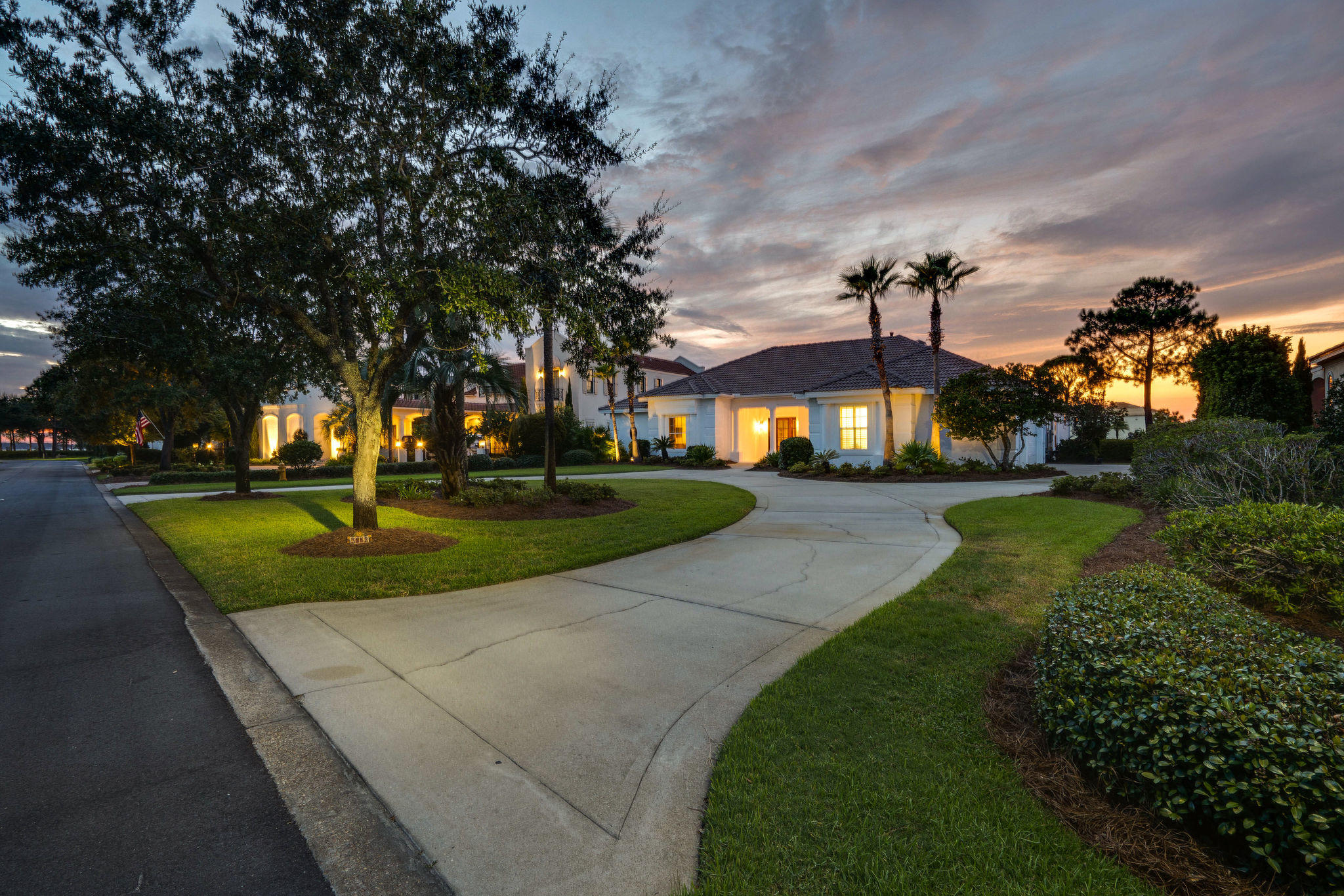 Extremely rare opportunity to own a lovely home boasting never ending views of the Choctawhatchee Ba
