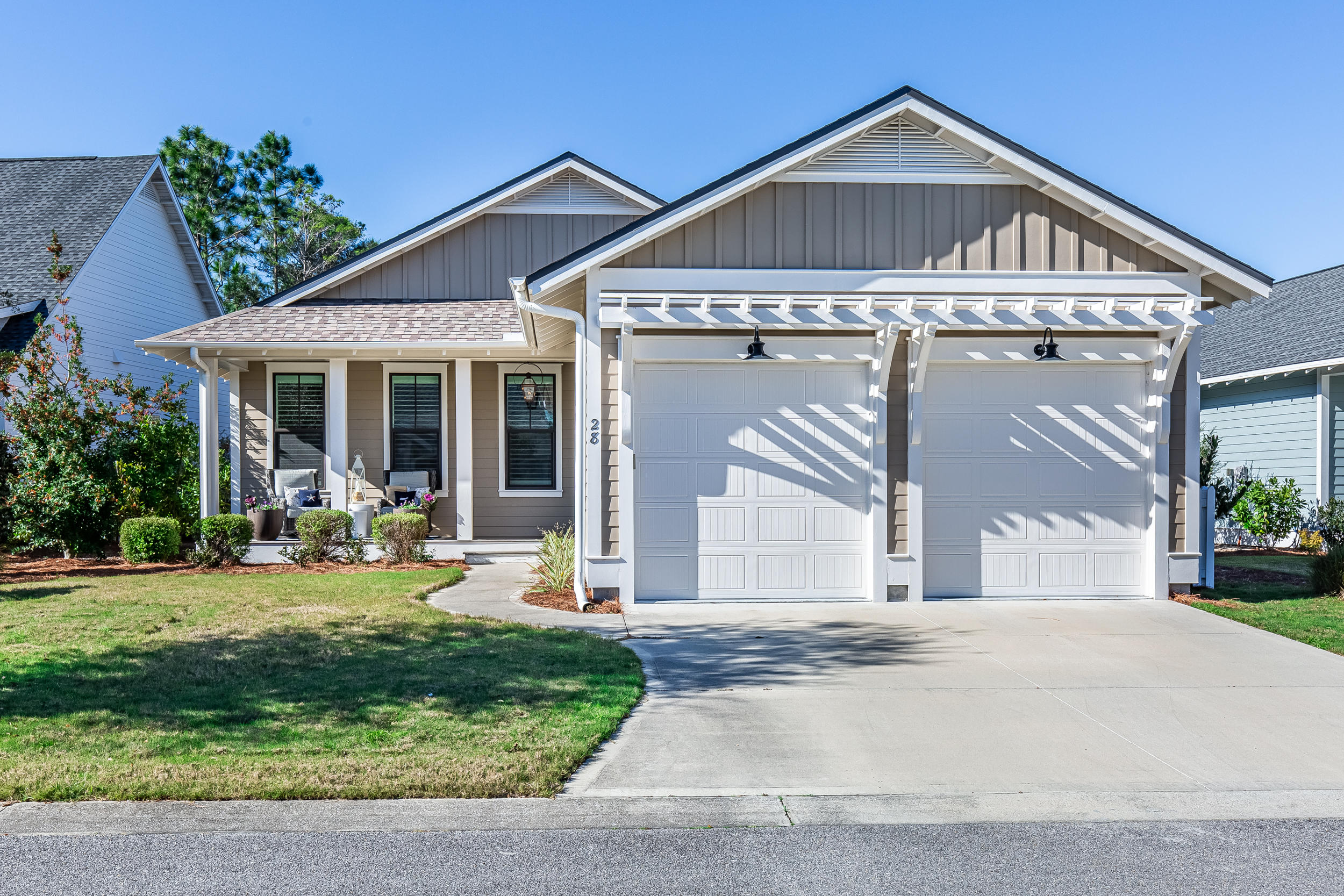 Impeccable home in WaterSound Origins. Located on one of the Best lots in the Winter Garden section