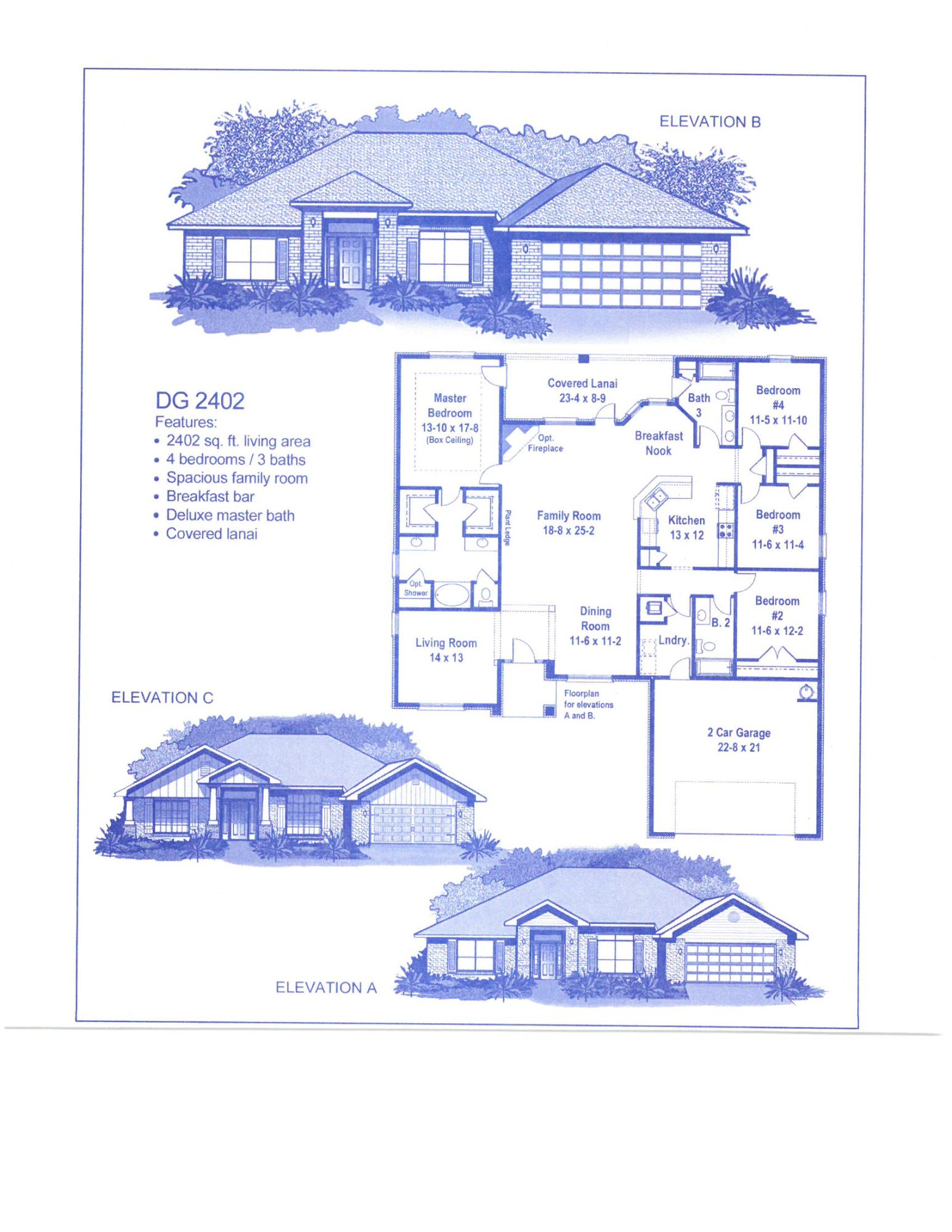 Photo of home for sale at 5780 Marigold, Crestview FL