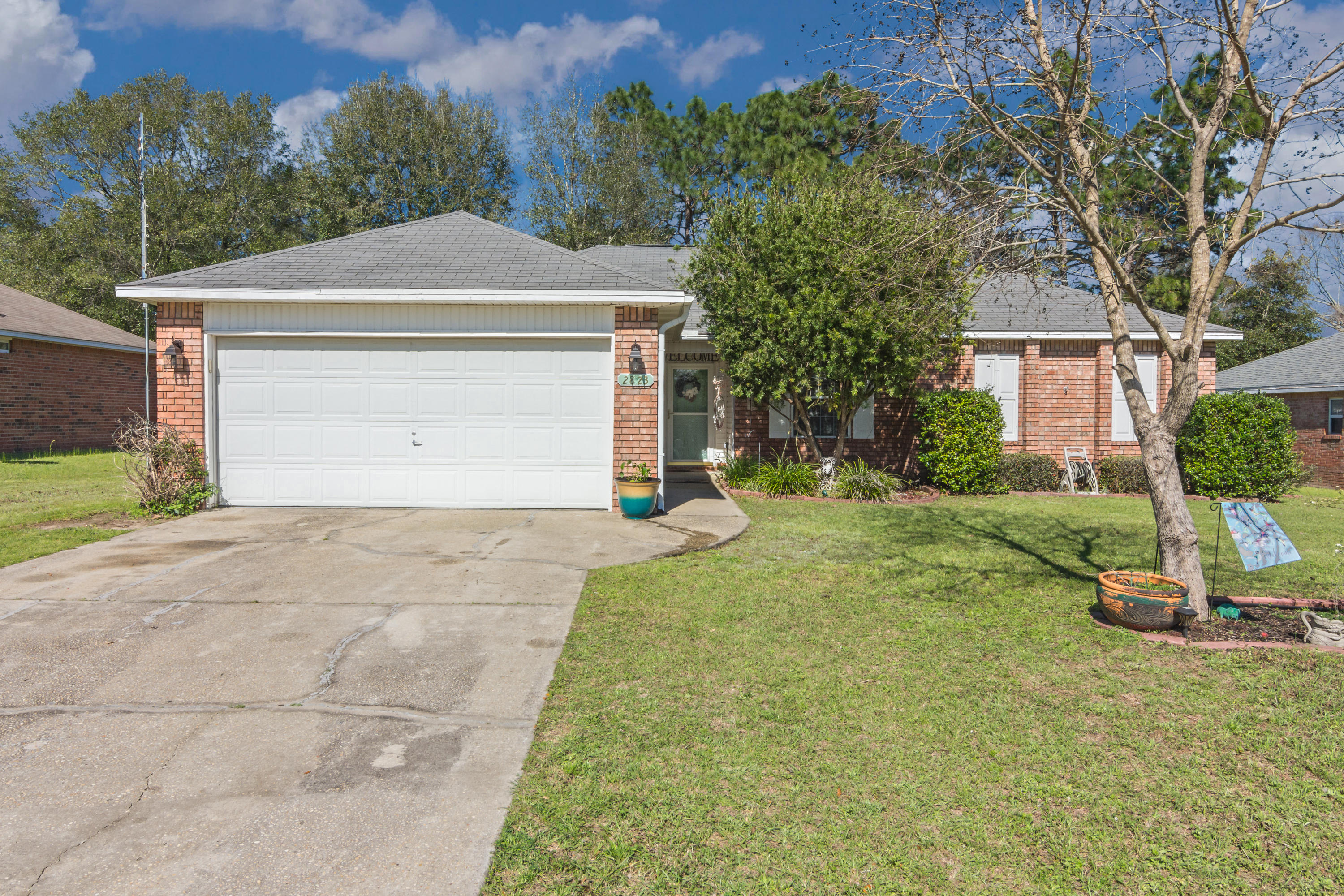 3 bed 2 bath home just one red light away from Eglin AFB and Duke Field.  This beautiful home is loc