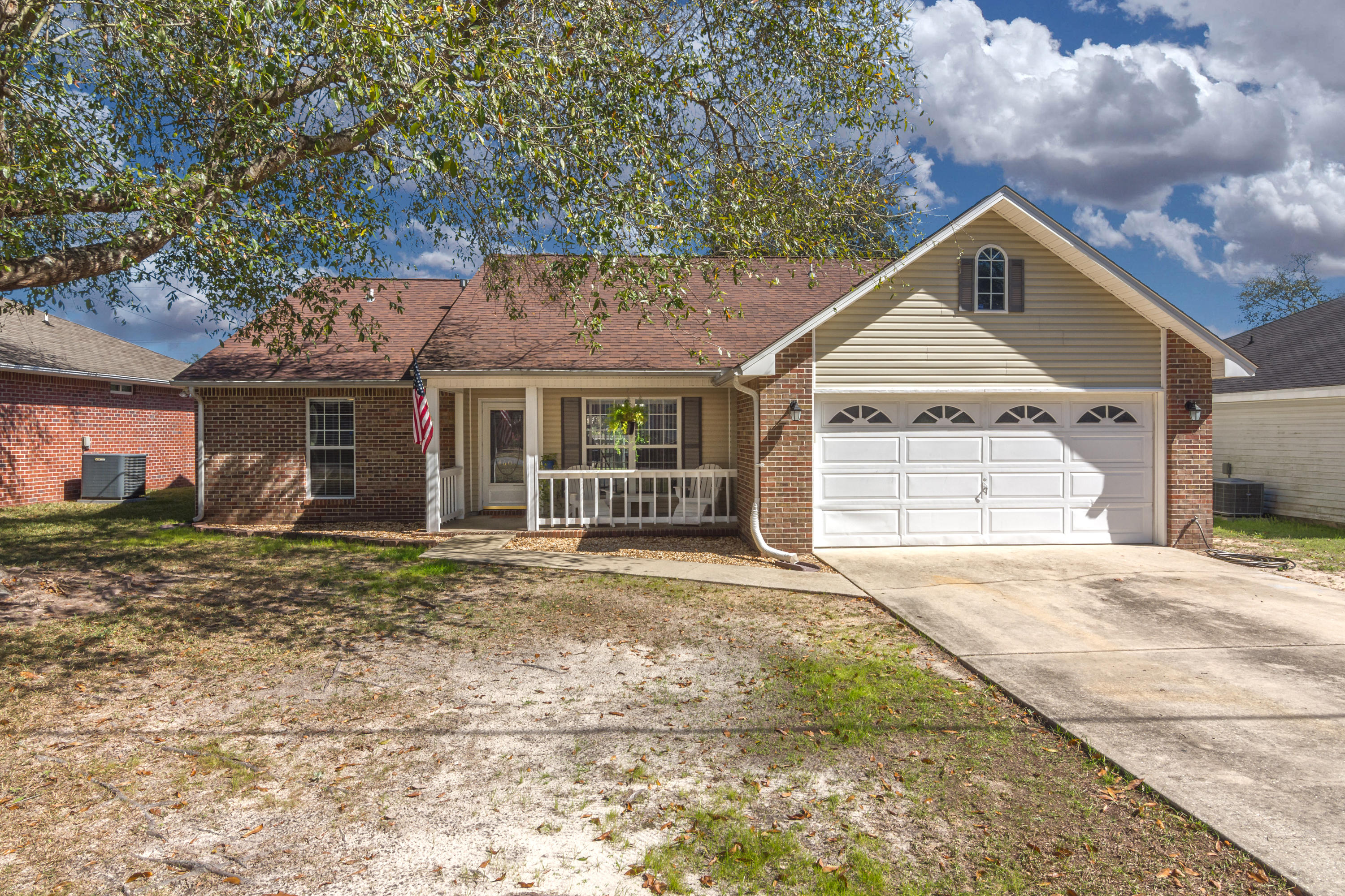 Well maintained 3 bed 2 bath home in a sought after South Crestview community. This home sits on a l