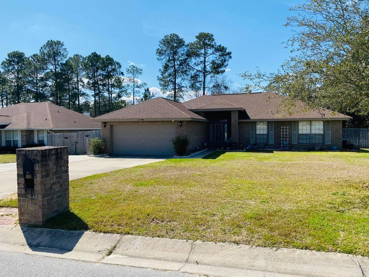 Photo of home for sale at 109 Strike Eagle, Crestview FL