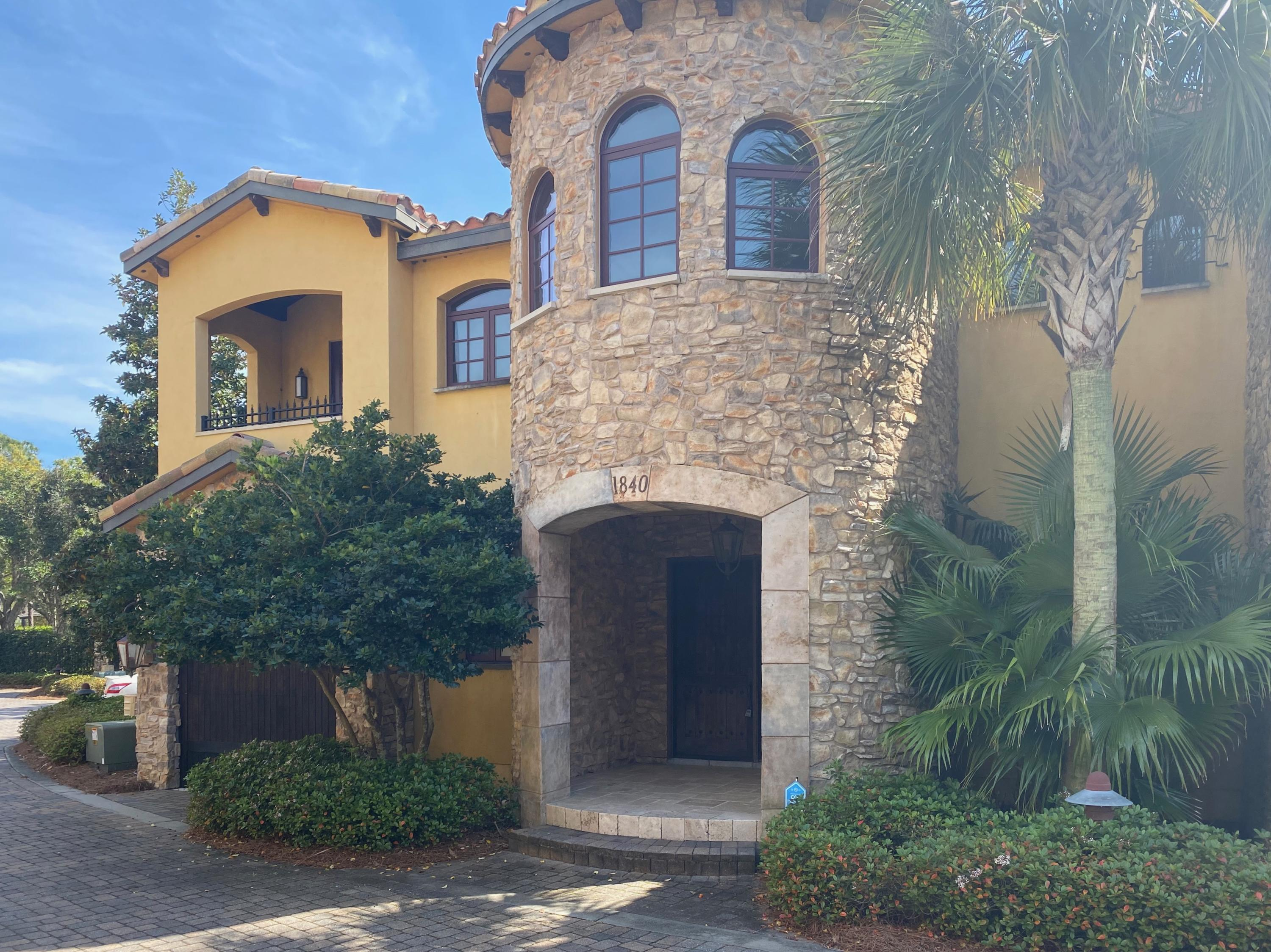 Photo of home for sale at 1840 Tuscana, Miramar Beach FL