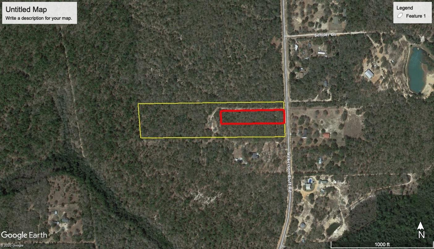 Photo of home for sale at 1.5AC Wilkerson Bluff, Holt FL