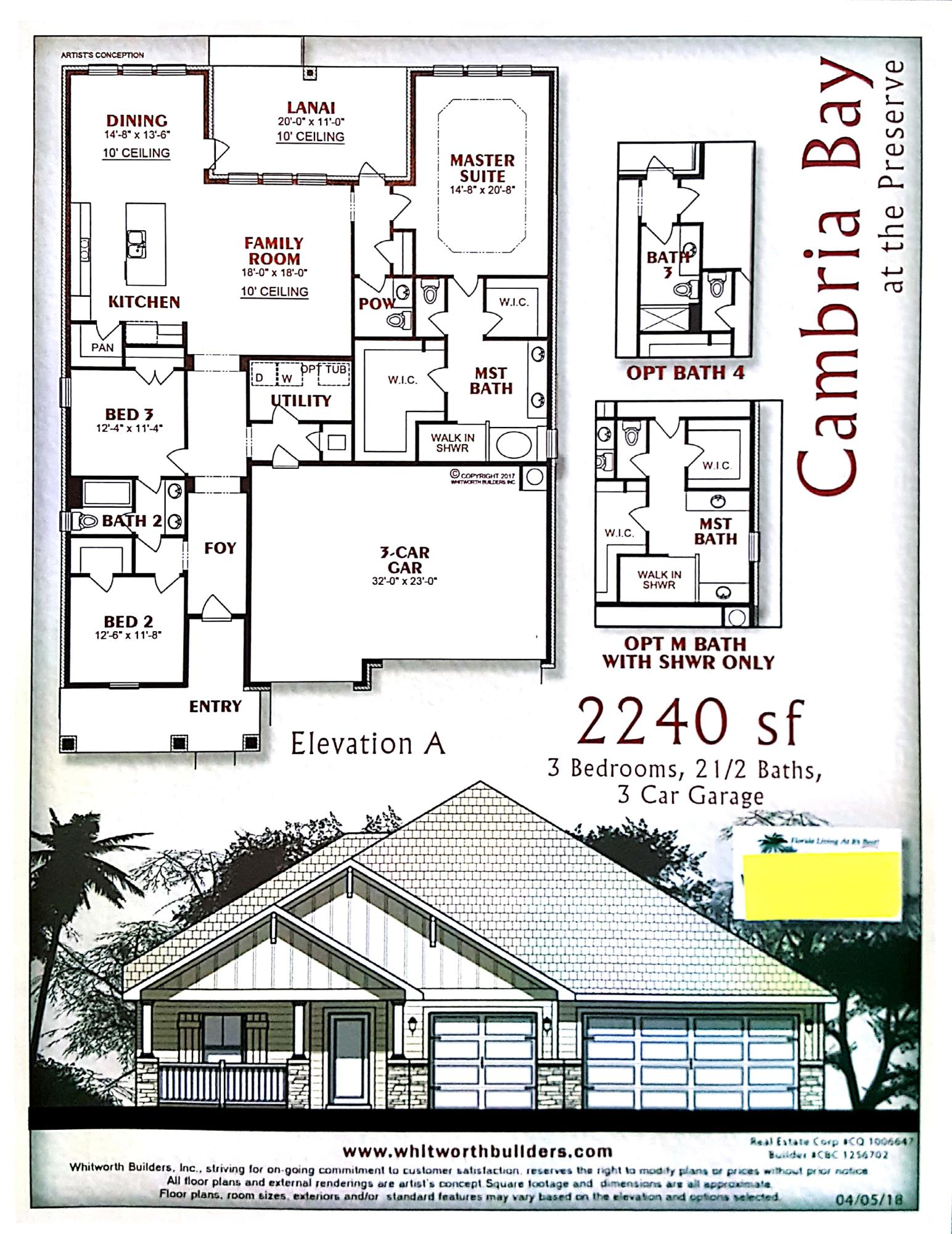 Photo of home for sale at 8124 Majestic Cypress Drive, Milton FL