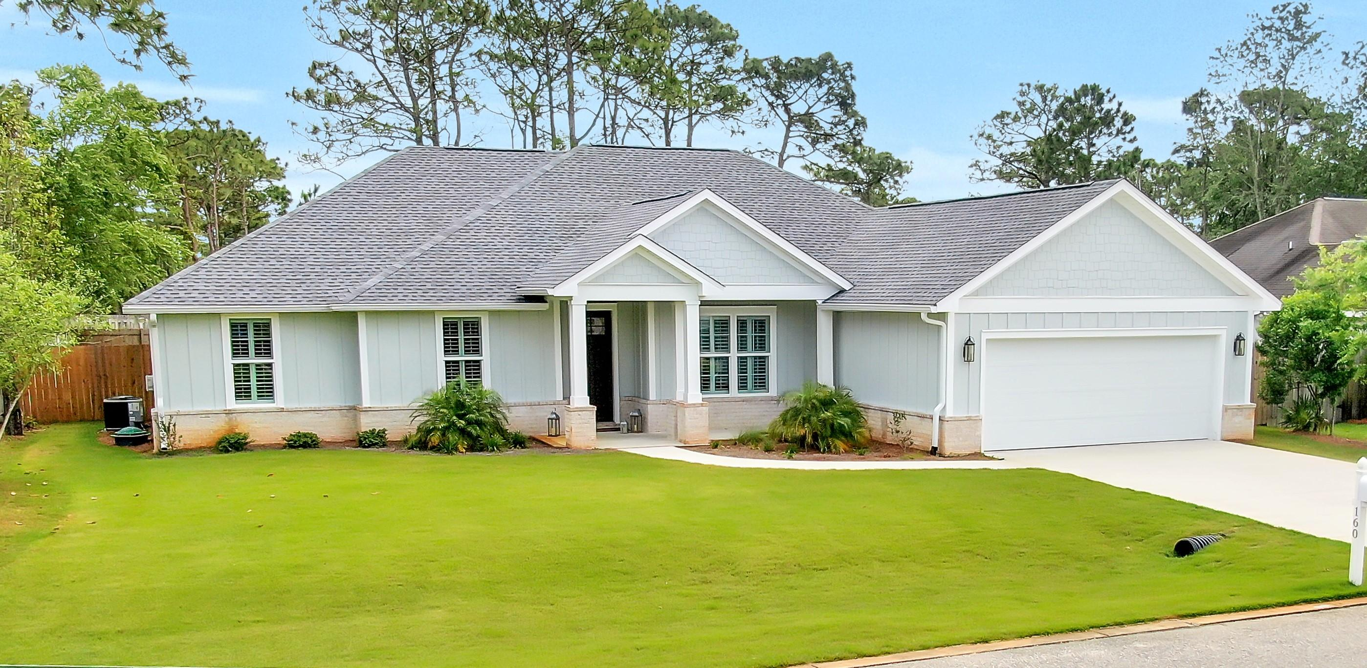 Photo of home for sale at 160 Pelican Bay, Santa Rosa Beach FL