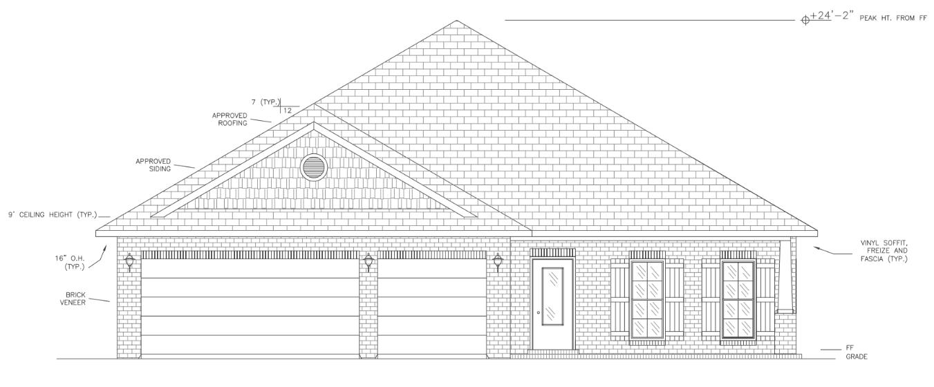 Photo of home for sale at 1443 Hickory, Niceville FL