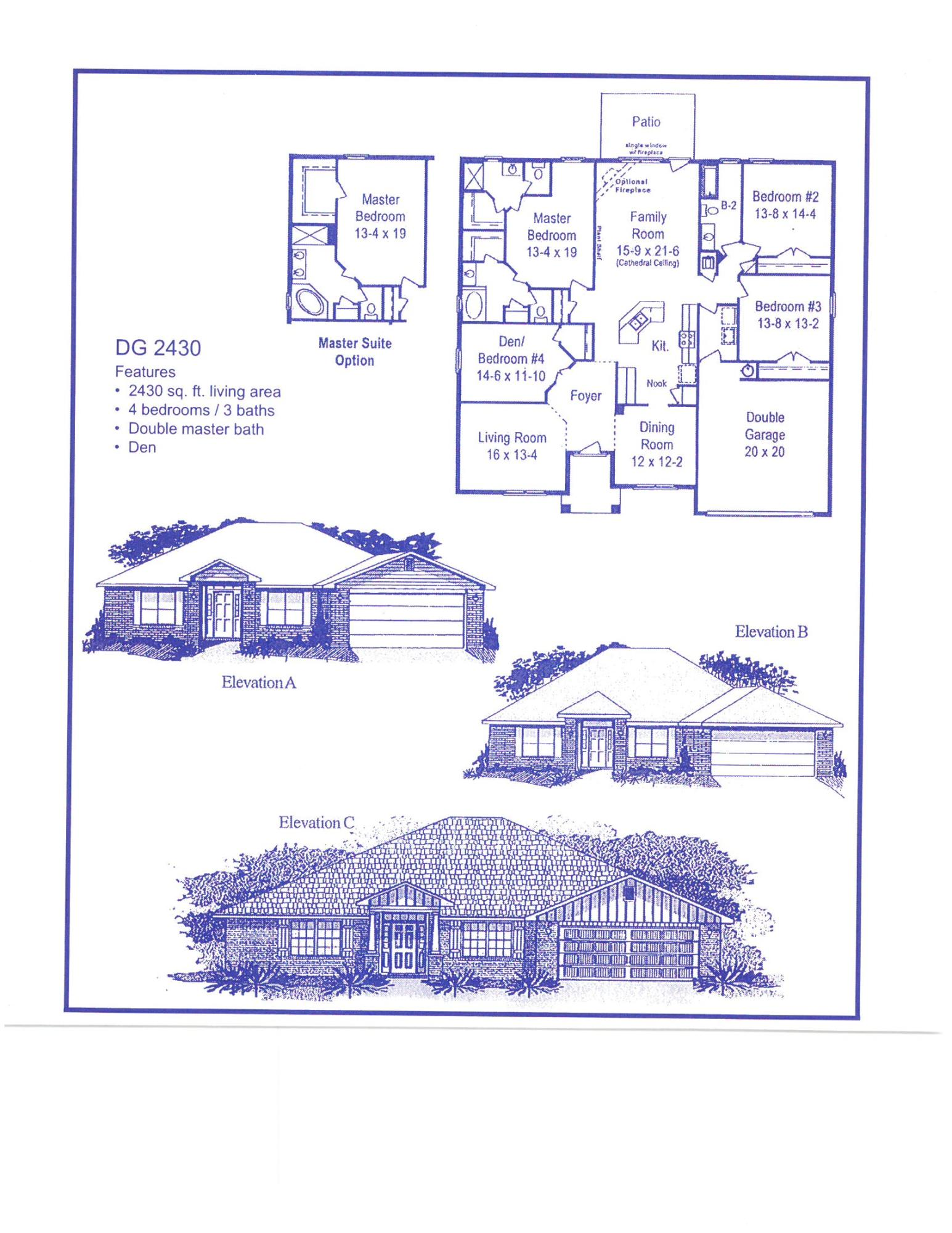 Photo of home for sale at 5735 Marigold, Crestview FL