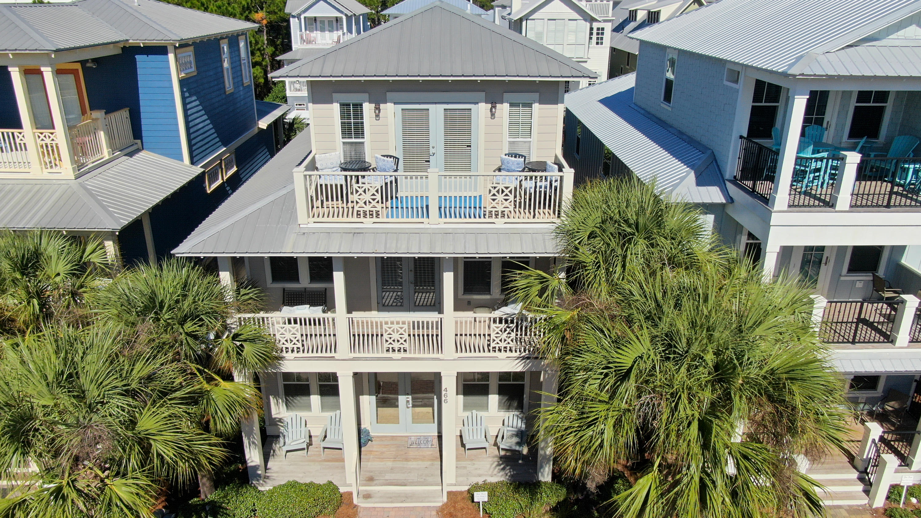 Photo of home for sale at 466 Beach Bike, Inlet Beach FL