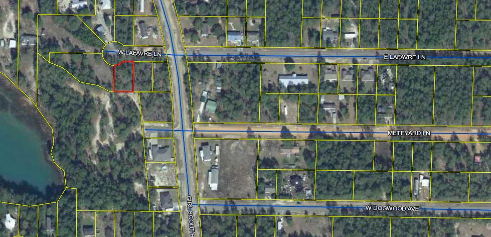 Photo of home for sale at TBD Lafavre, Defuniak Springs FL