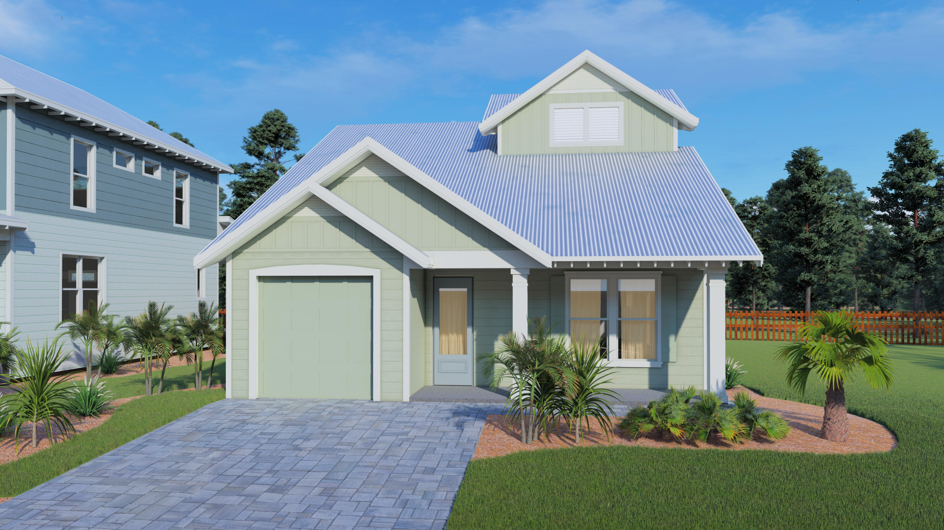 Photo of home for sale at Lot 45 Willow Mist, Inlet Beach FL