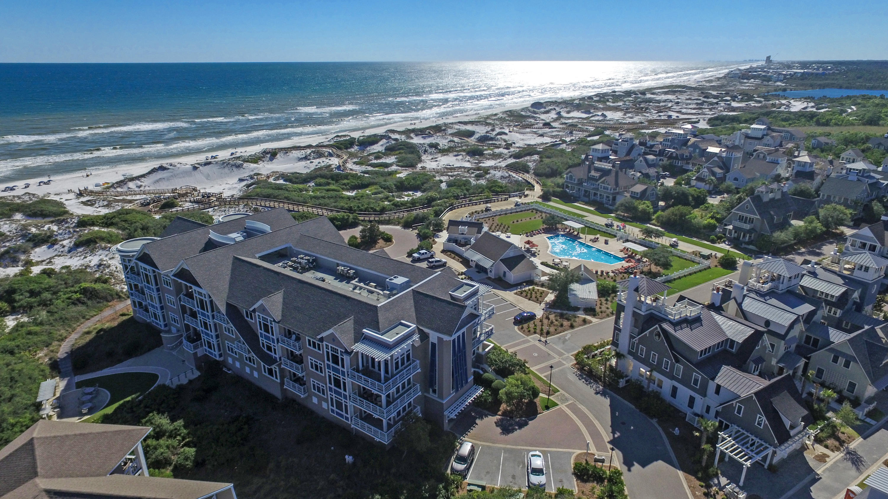 Photo of home for sale at 99 Compass Point, Inlet Beach FL