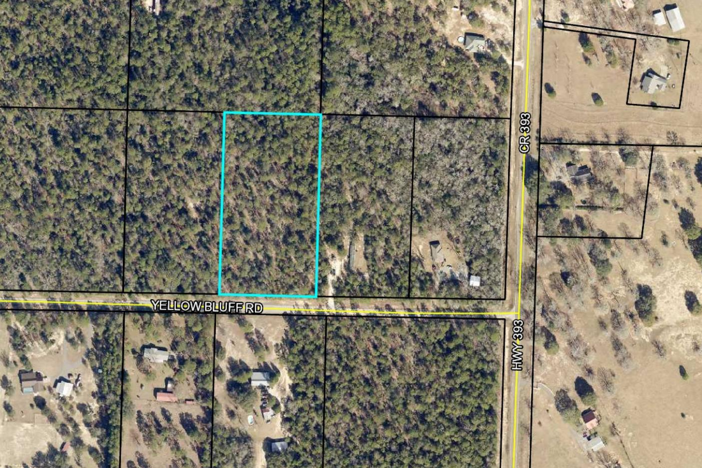 Photo of home for sale at 4.75 acres Yellow Bluff Rd, Crestview FL