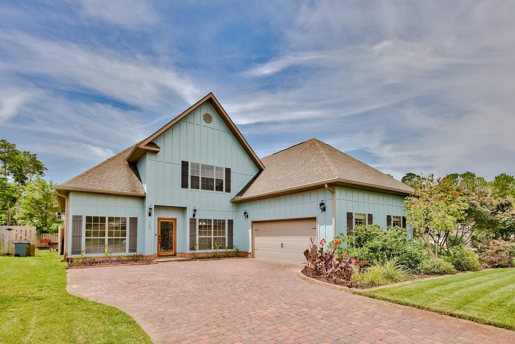 Photo of home for sale at 157 Mussett Bayou, Santa Rosa Beach FL