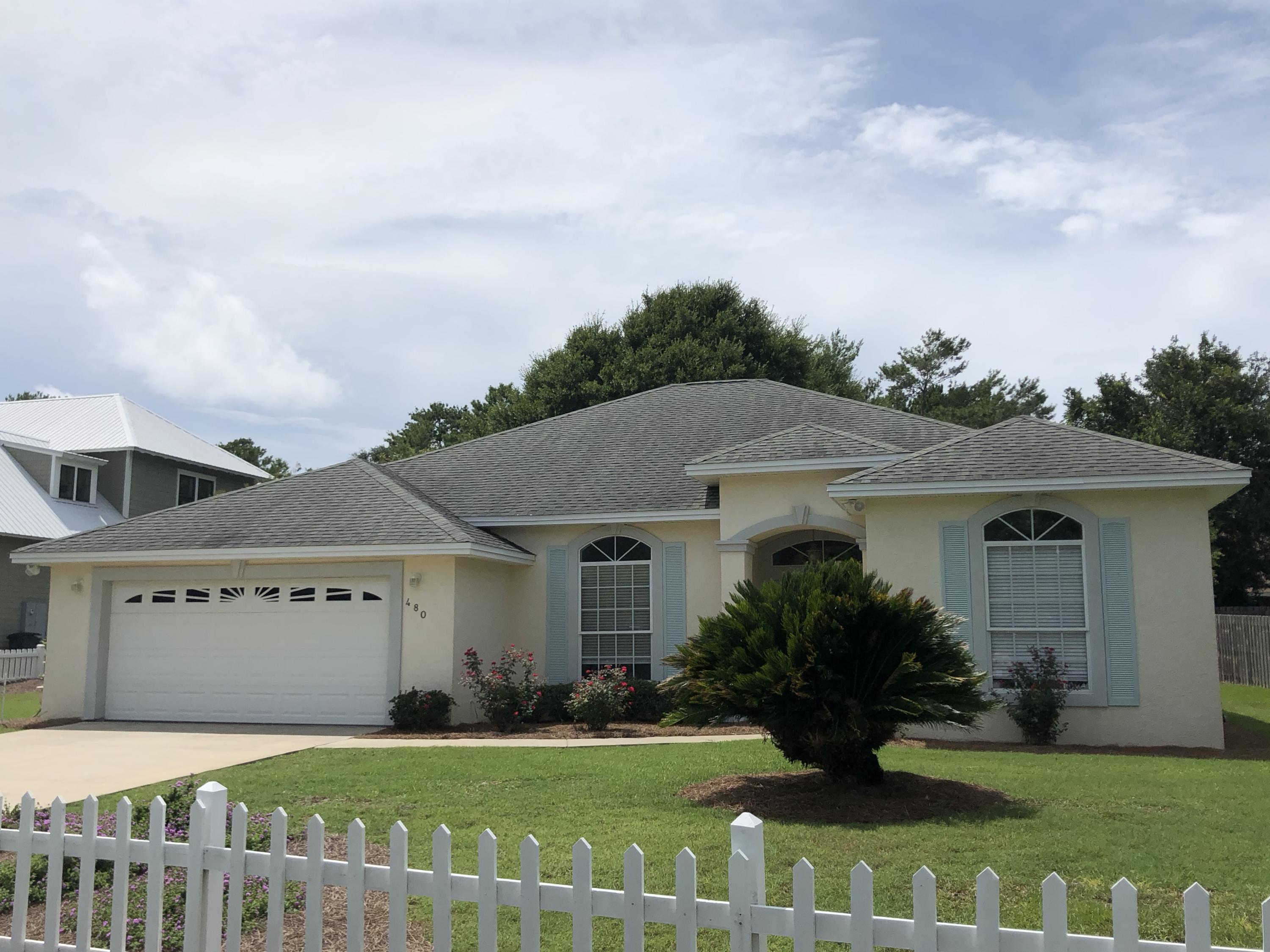 Photo of home for sale at 480 Seabreeze, Inlet Beach FL