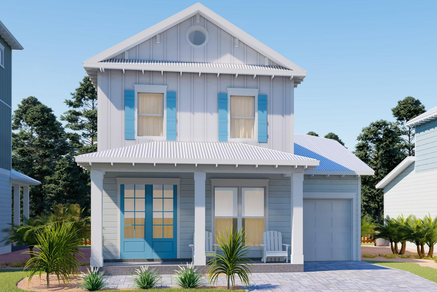 Photo of home for sale at Lot 41 Willow Mist, Inlet Beach FL