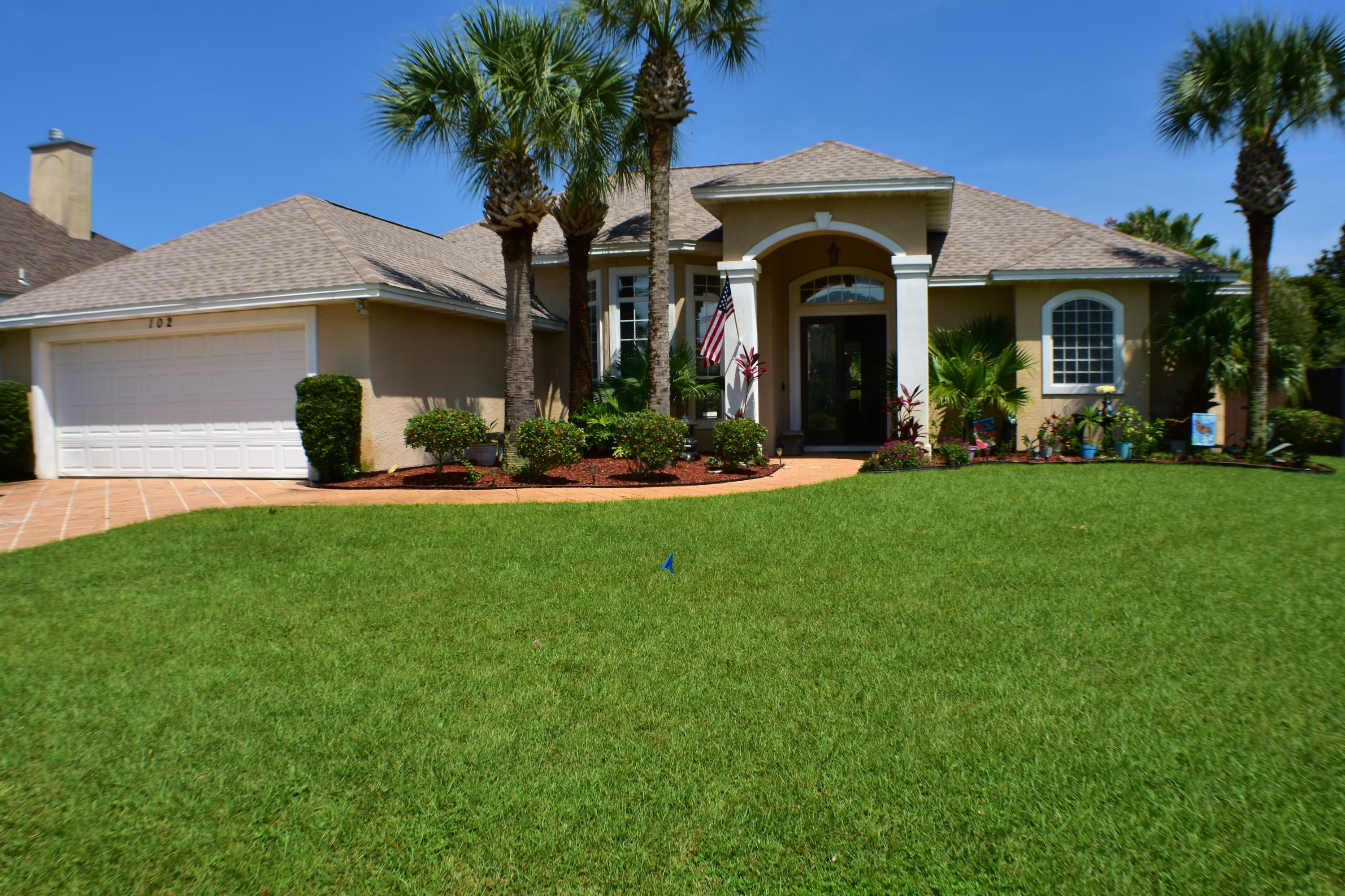 Photo of home for sale at 102 Palm Bay, Panama City Beach FL