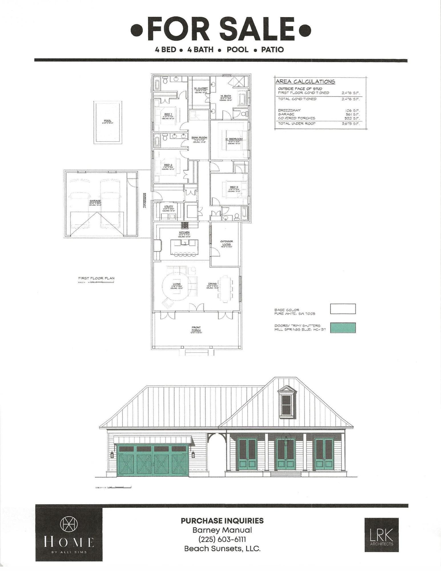 Photo of home for sale at 90 Beach, Miramar Beach FL