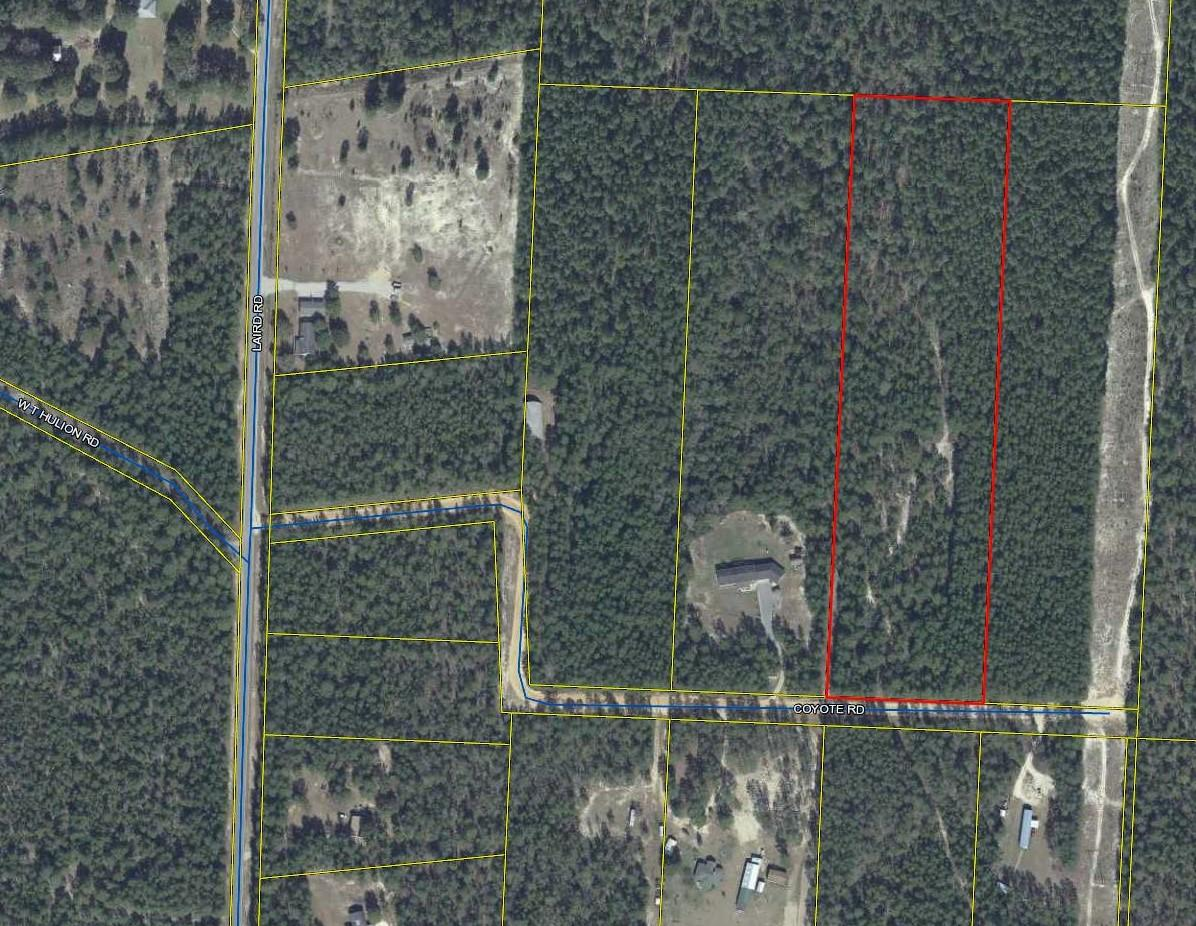 Photo of home for sale at xxx 10 Ac. Coyote Rd., Crestview FL