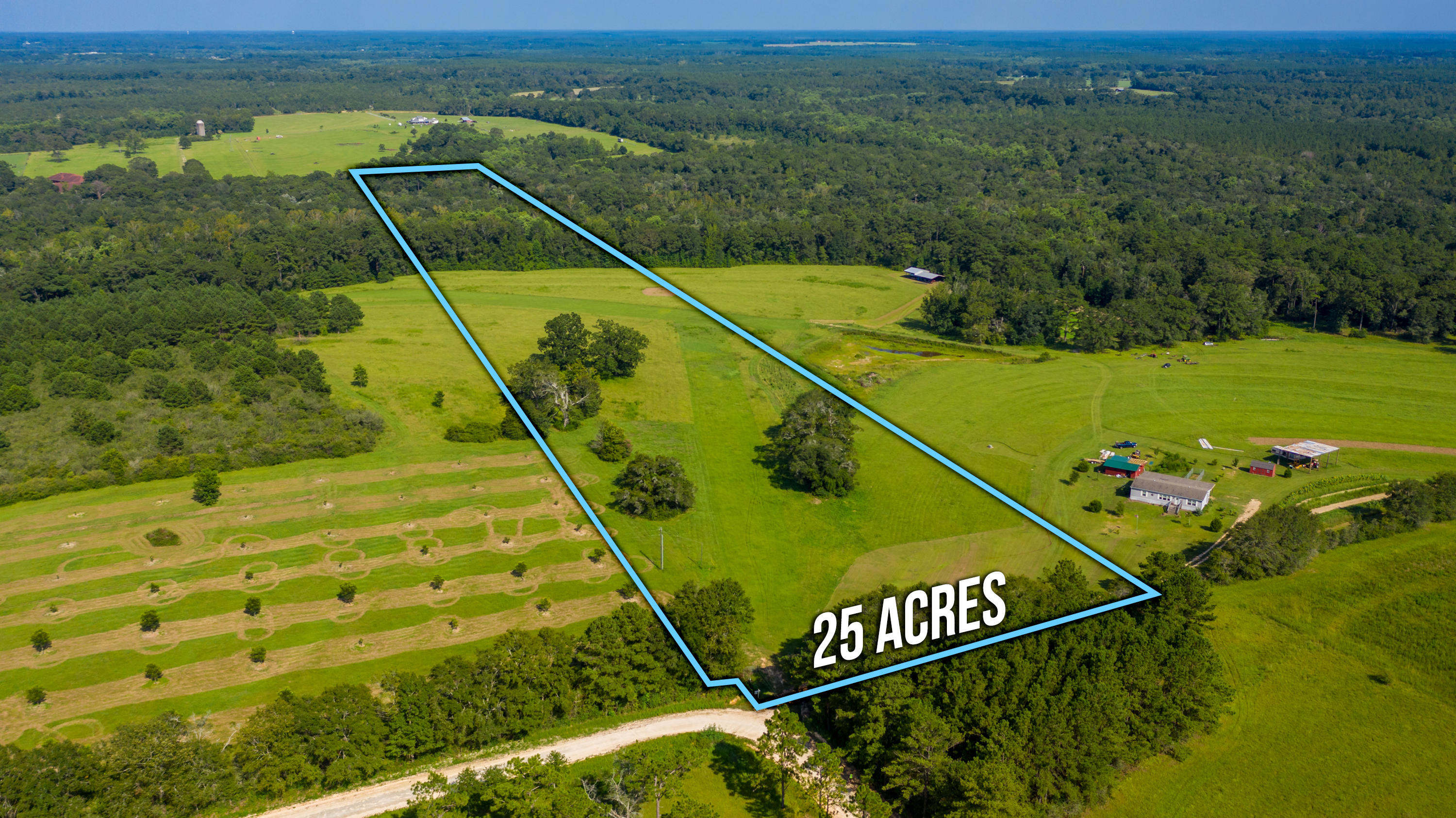 Photo of home for sale at 25.53 Ac Ludlam, Laurel Hill FL
