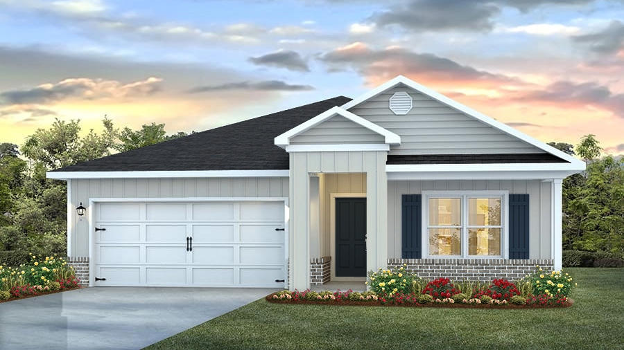 Photo of home for sale at 3492 Sparco, Crestview FL