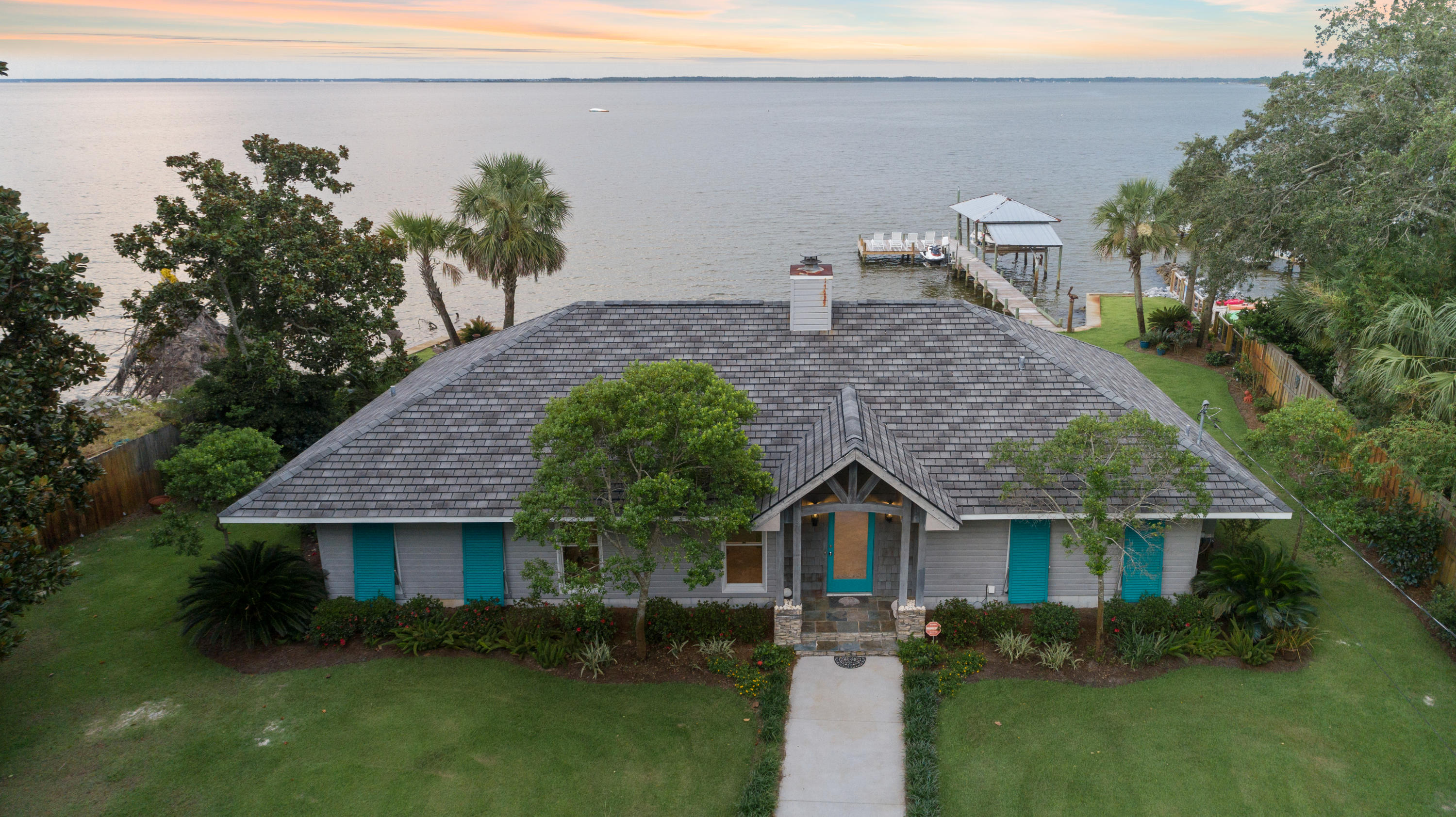 Photo of home for sale at 459 Turquoise Bch, Santa Rosa Beach FL