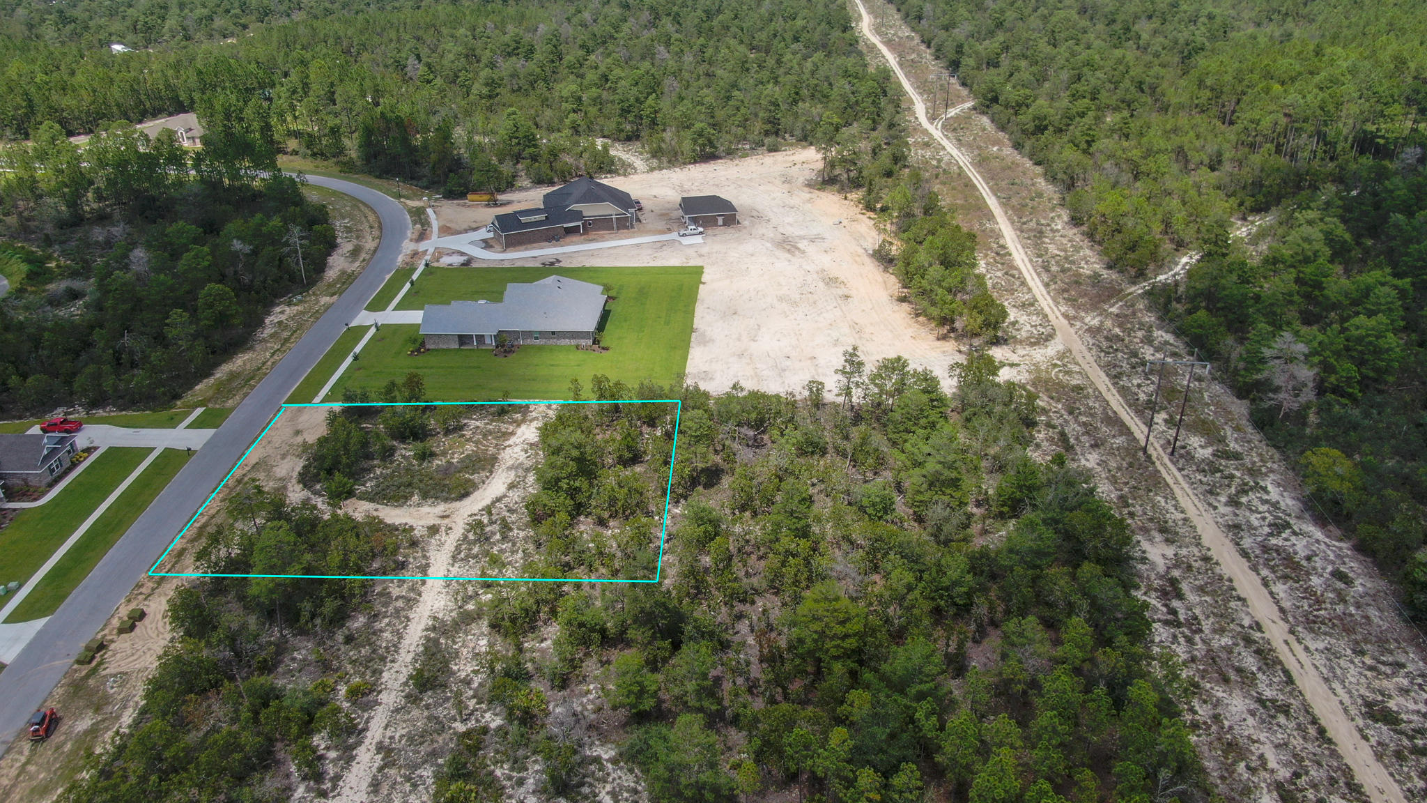 Photo of home for sale at Lot 13A Brushed Dune, Freeport FL