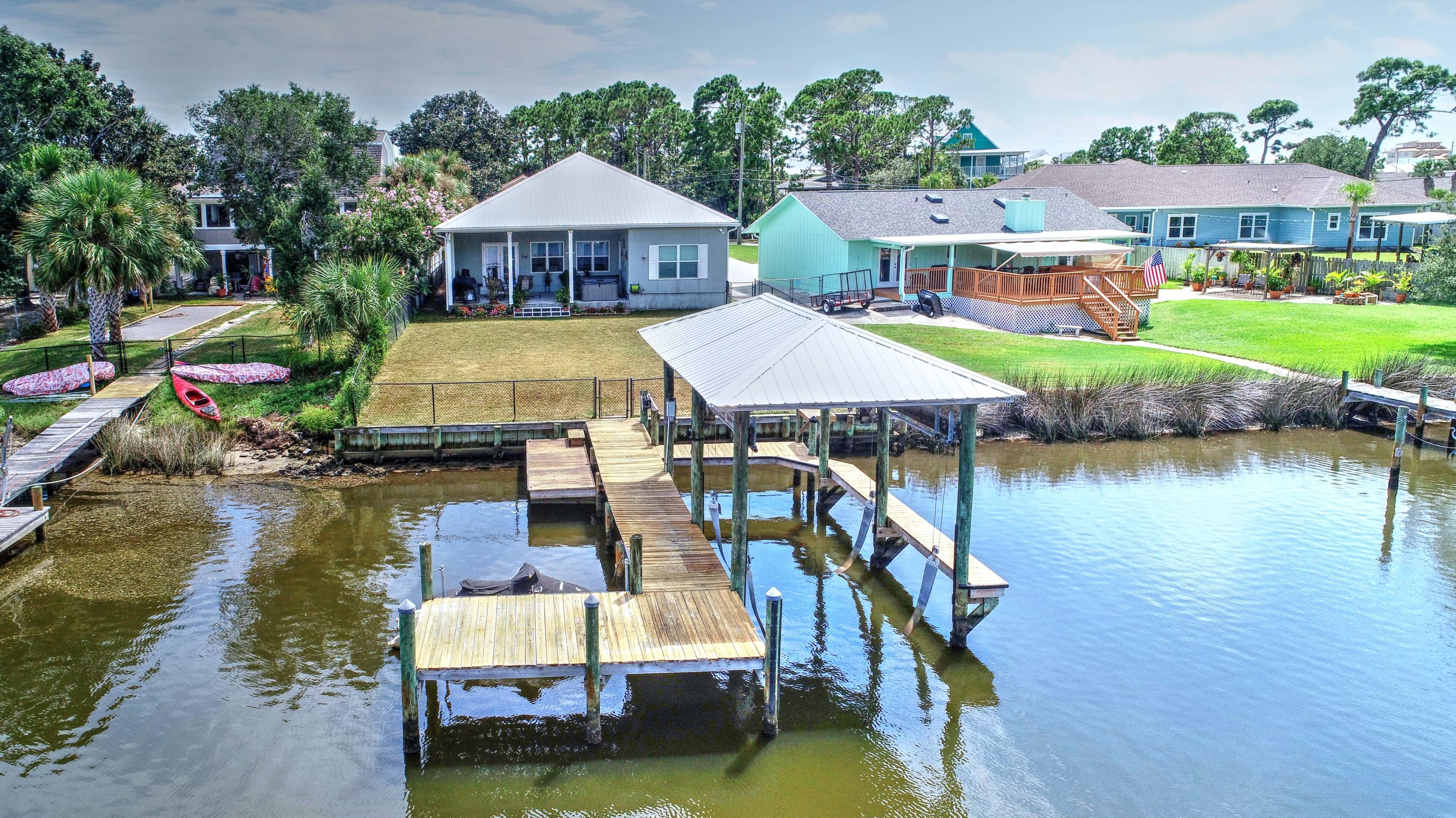 Photo of home for sale at 8232 Lagoon, Panama City Beach FL