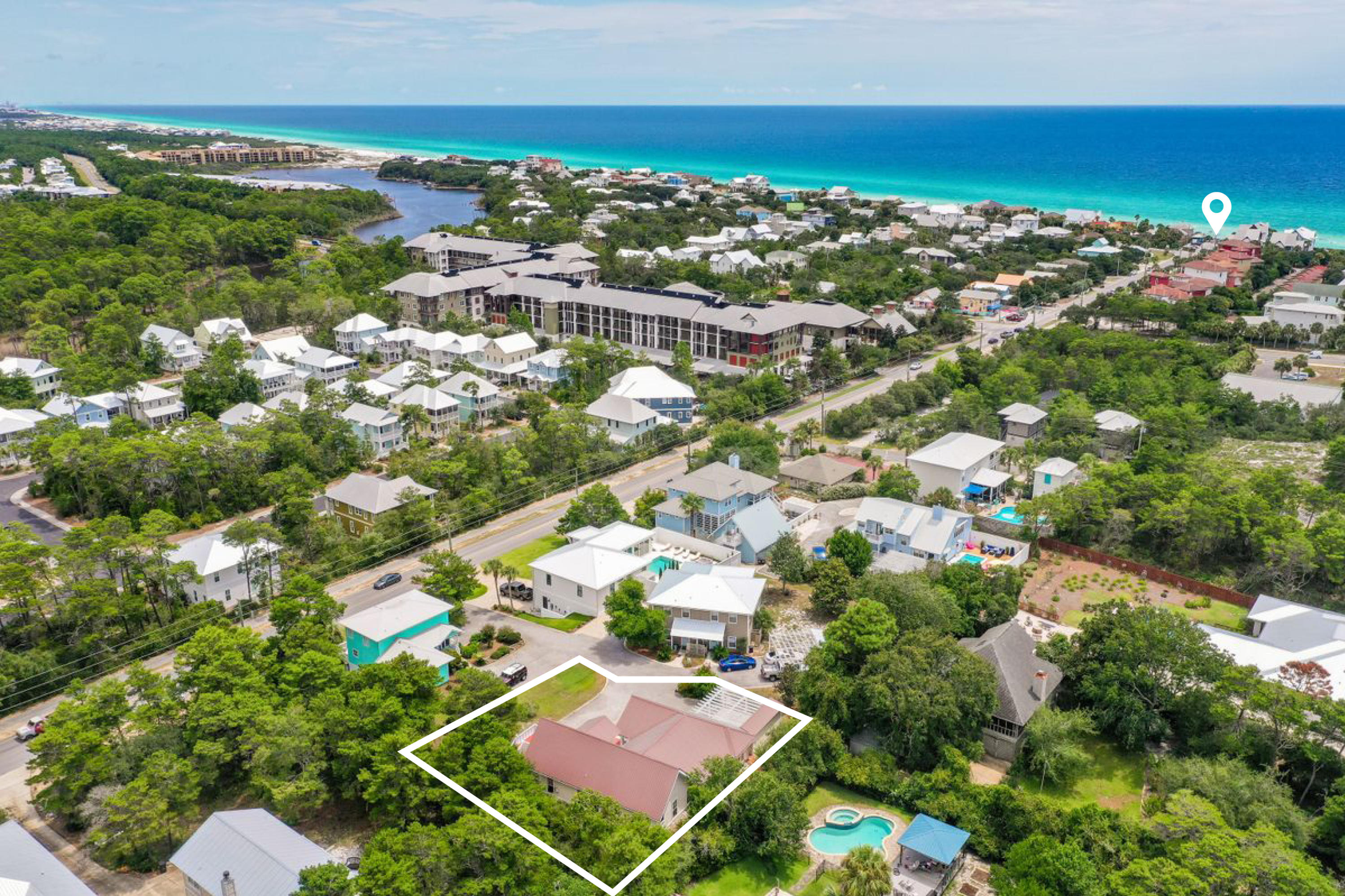 Photo of home for sale at 1960 Co Hwy 83 S, Santa Rosa Beach FL