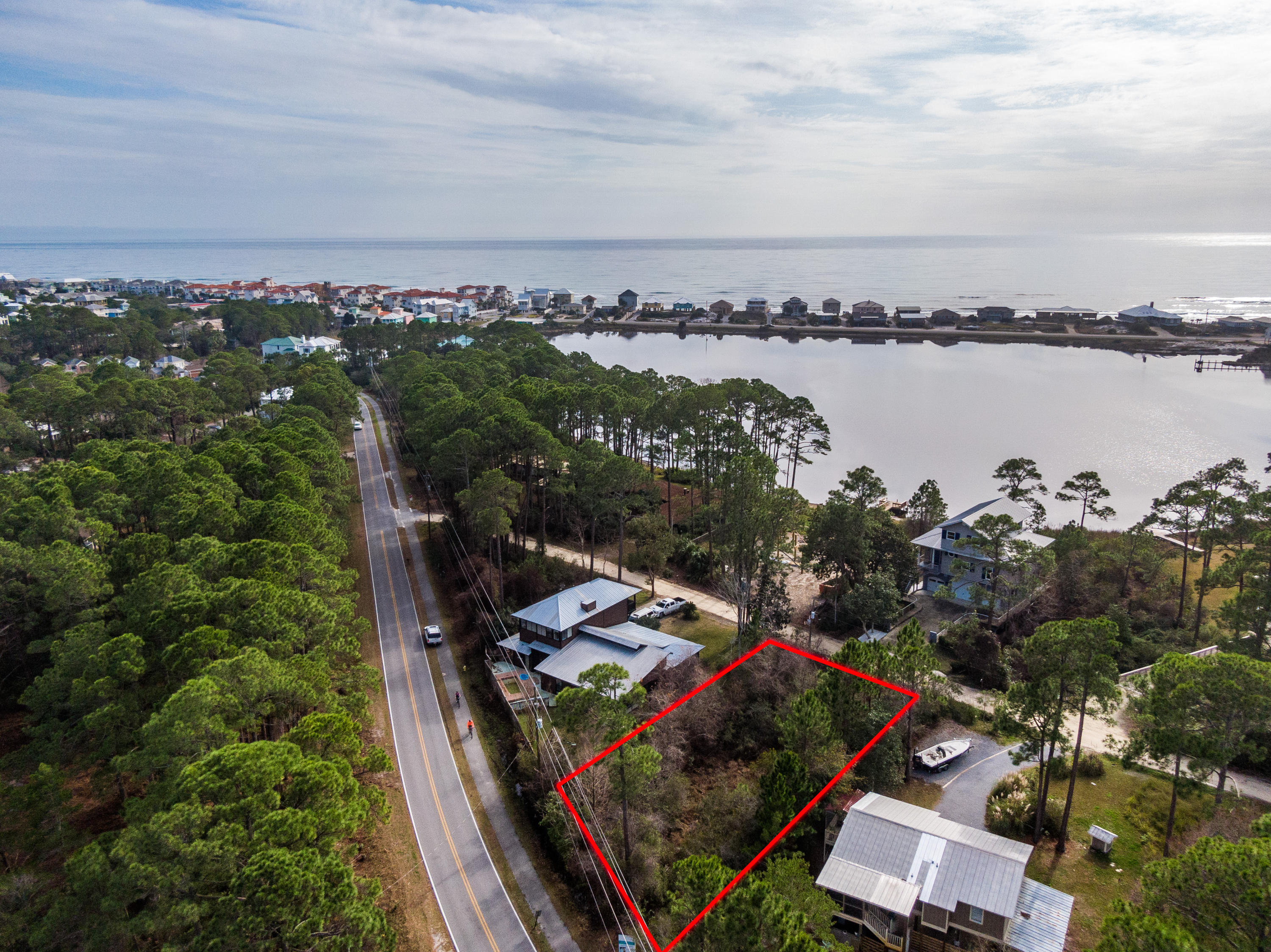 Photo of home for sale at Lot 19 Oyster Lake, Santa Rosa Beach FL