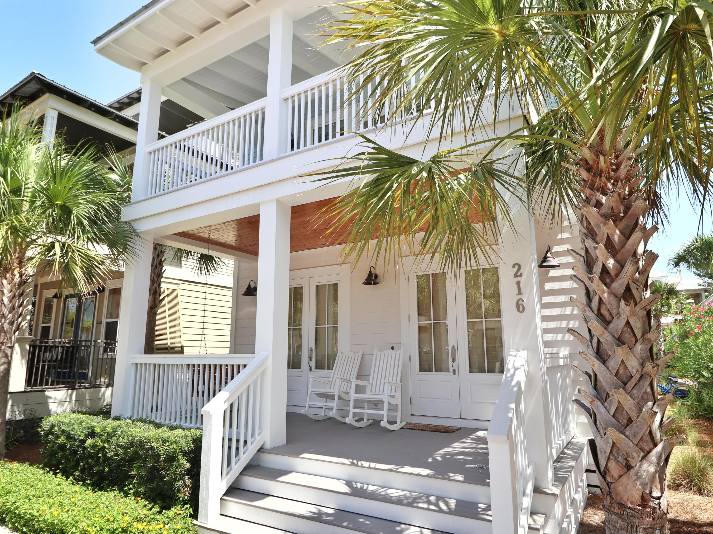 Photo of home for sale at 216 Seacrest Beach, Inlet Beach FL