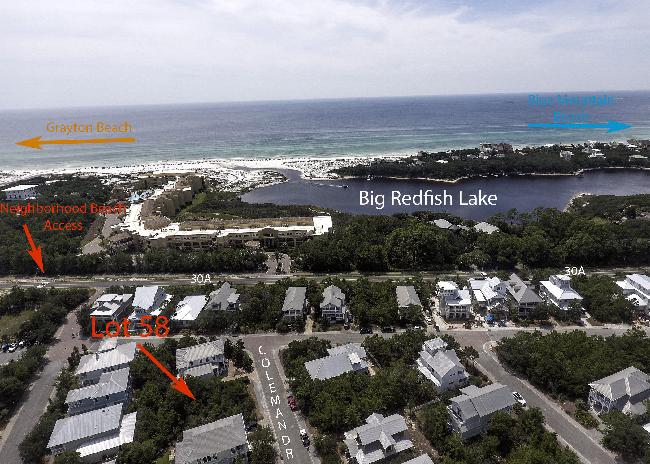 Photo of home for sale at Lot 58 Coleman, Santa Rosa Beach FL