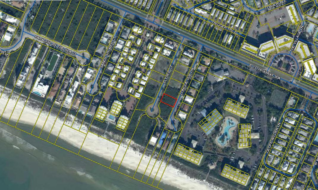 Photo of home for sale at LOT 13 Elysee Court, Inlet Beach FL