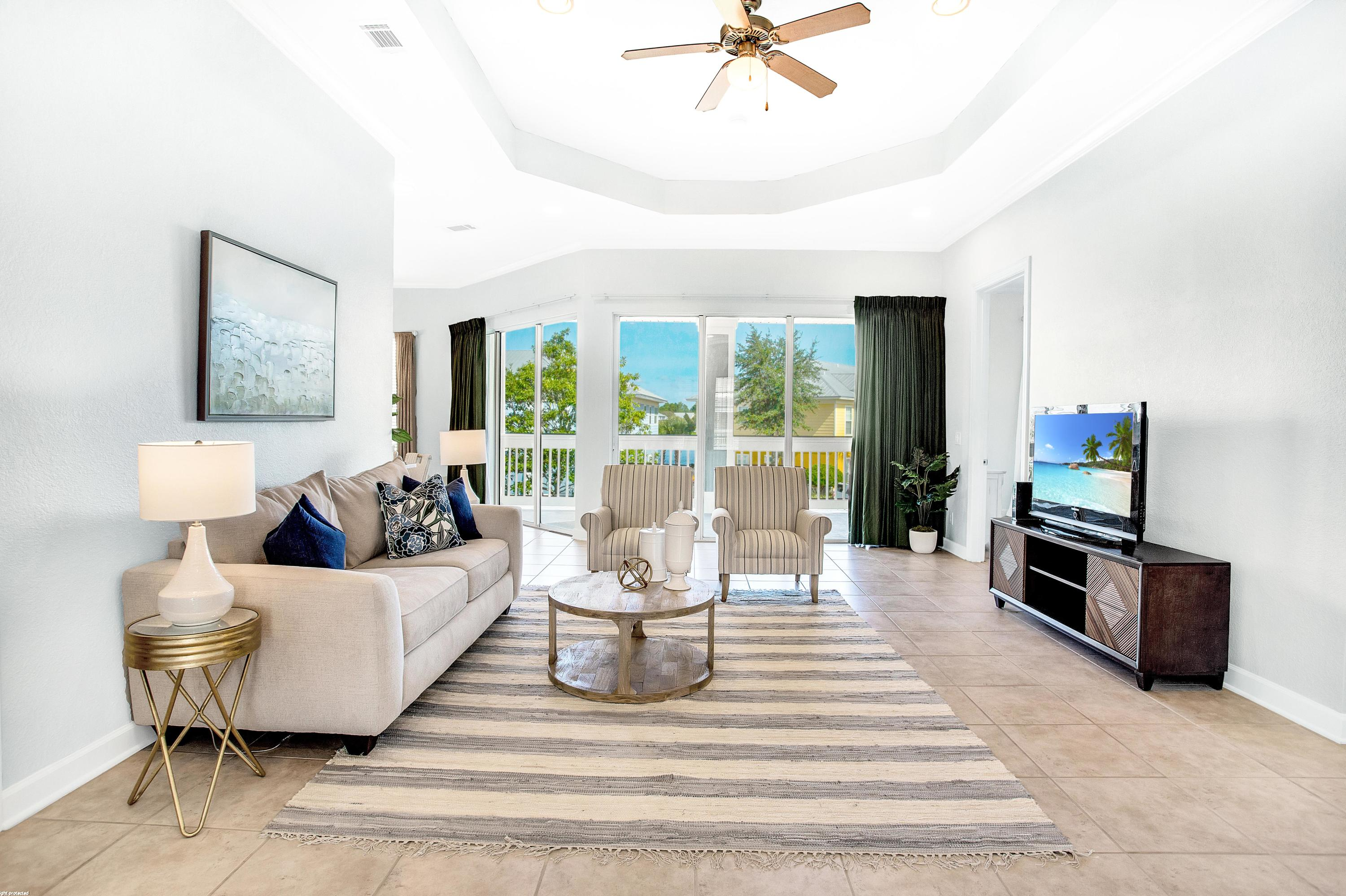 Photo of home for sale at 2323 Crystal Cove, Miramar Beach FL