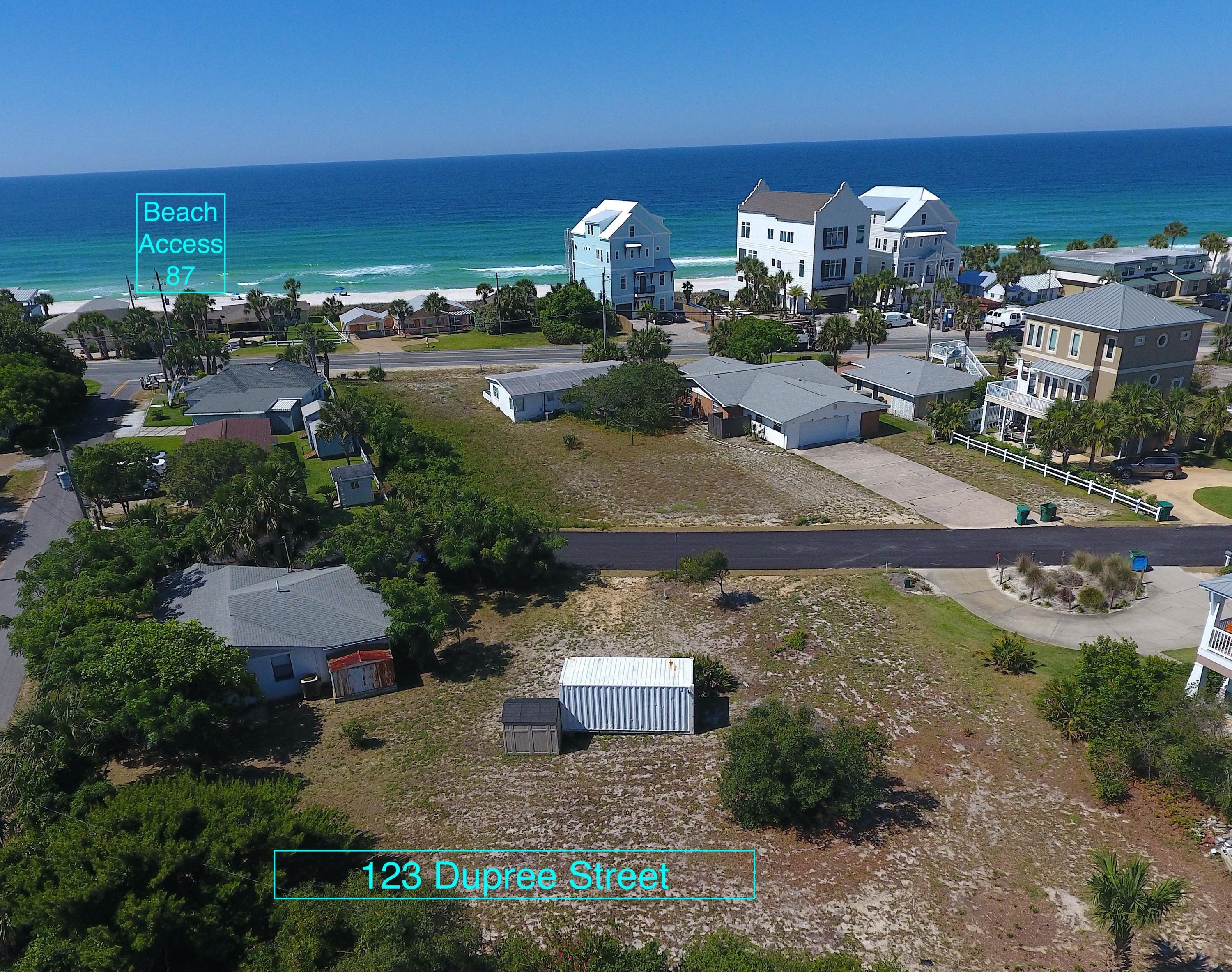 Photo of home for sale at 123 Dupree, Panama City Beach FL