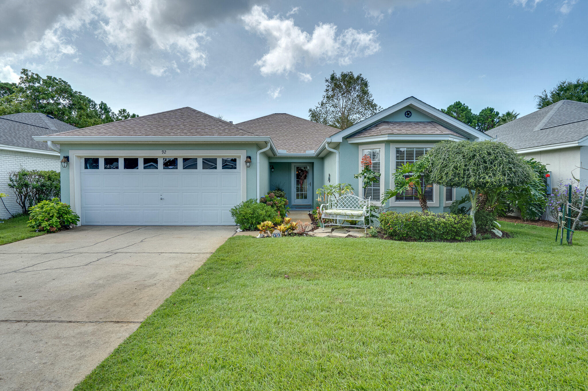 Photo of home for sale at 92 Bay Tree Dr., Miramar Beach FL