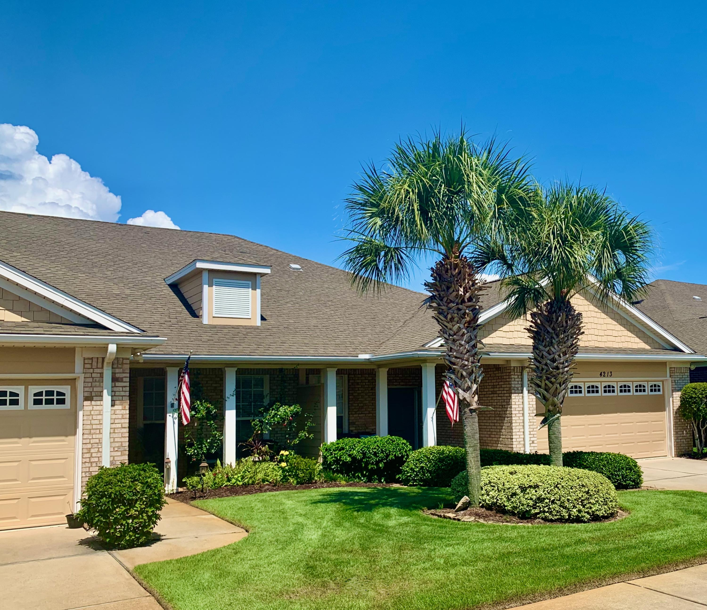 Photo of home for sale at 4213 Jade, Destin FL
