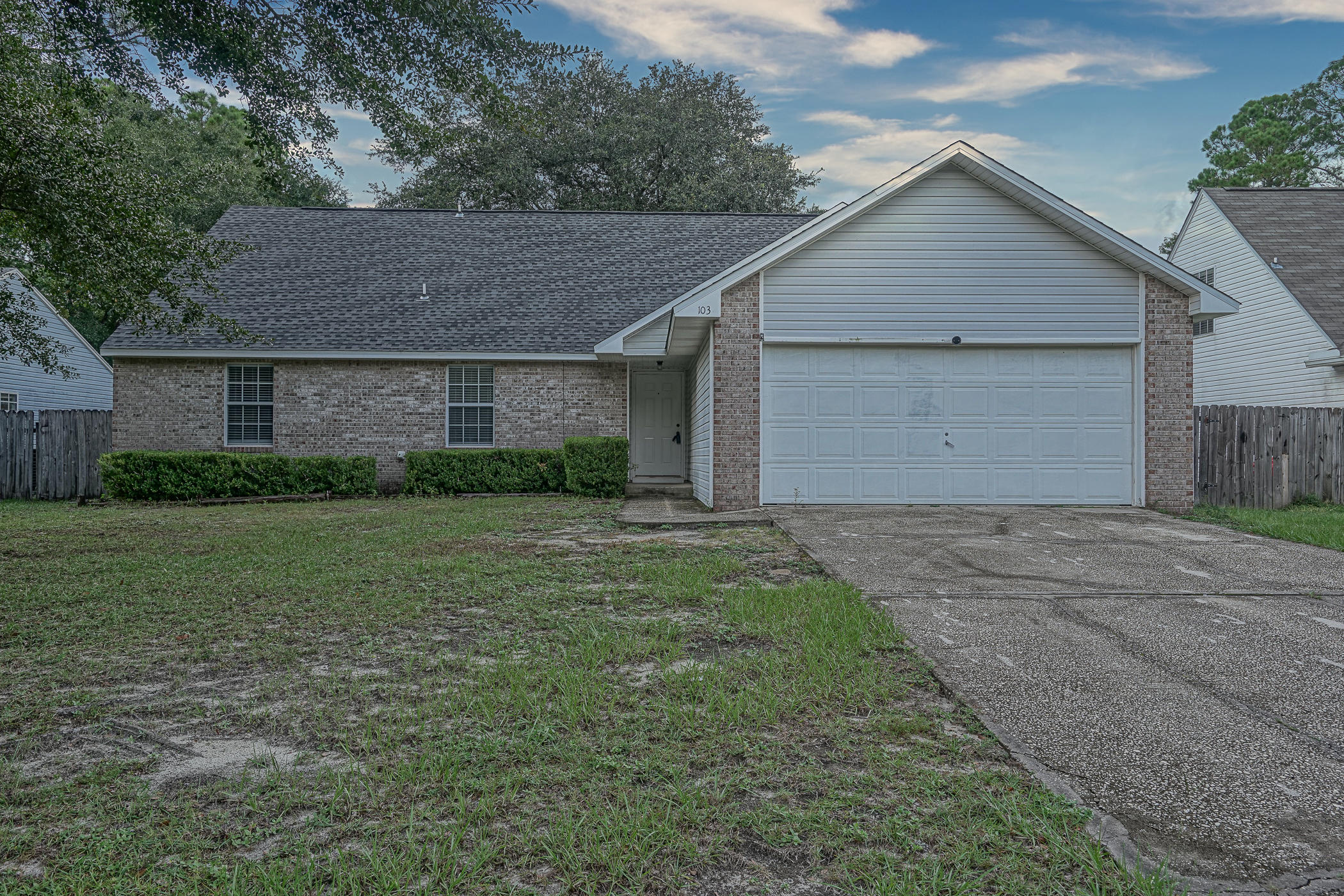 Photo of home for sale at 103 Trevor, Crestview FL