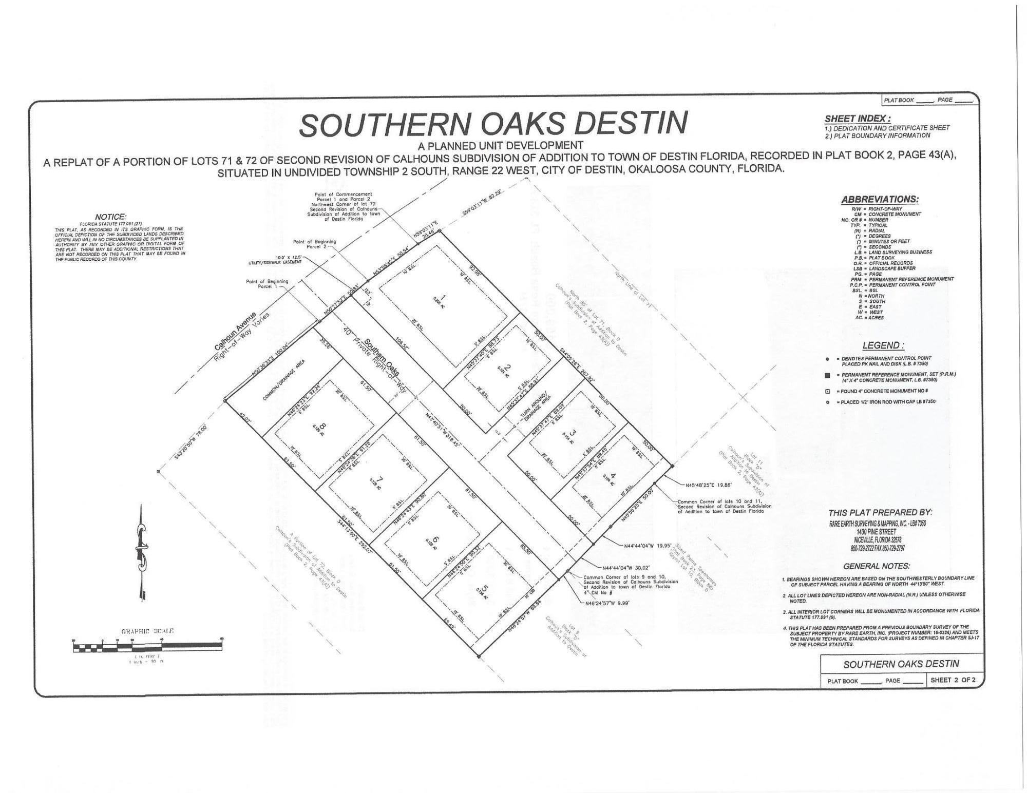 Photo of home for sale at 138 Calhoun, Destin FL