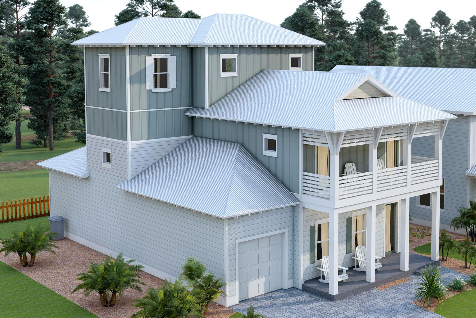 Photo of home for sale at 70 Willow Mist, Inlet Beach FL
